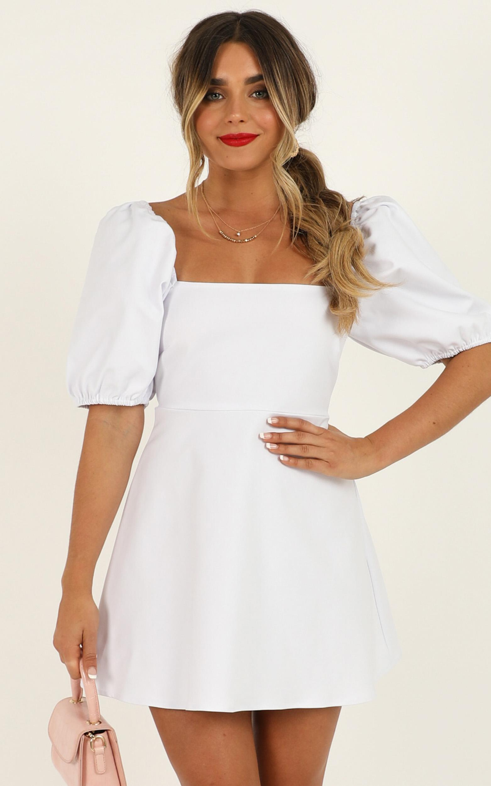 Dolls Baby Dress in white - 20 (XXXXL), White, hi-res image number null
