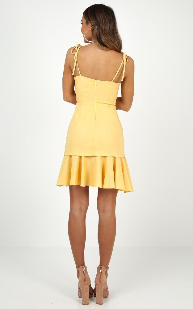 Sweetest Sin Dress in Lemon - 20 (XXXXL), Yellow, hi-res image number null