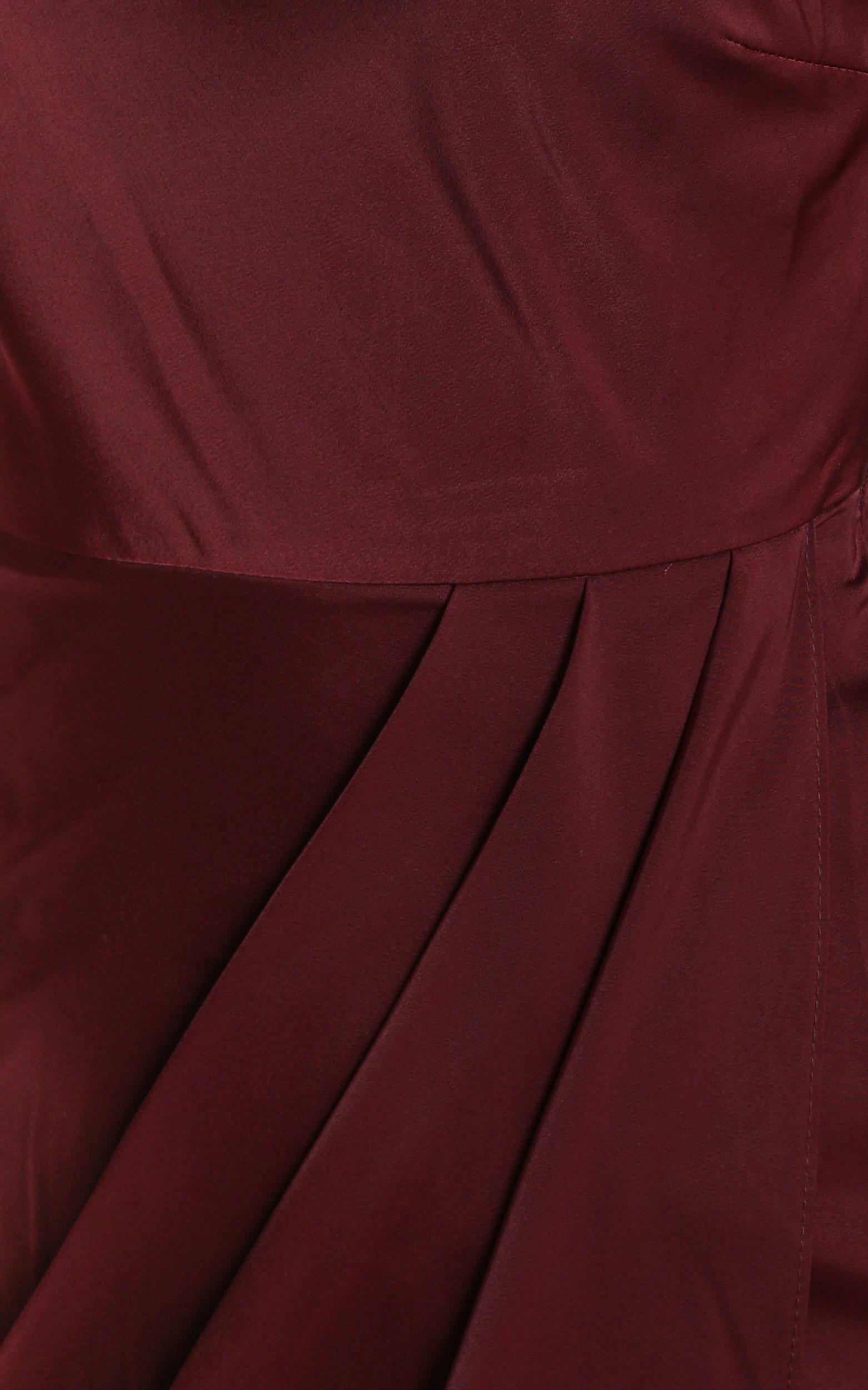 Felt So Happy Dress in wine - 20 (XXXXL), Wine, hi-res image number null