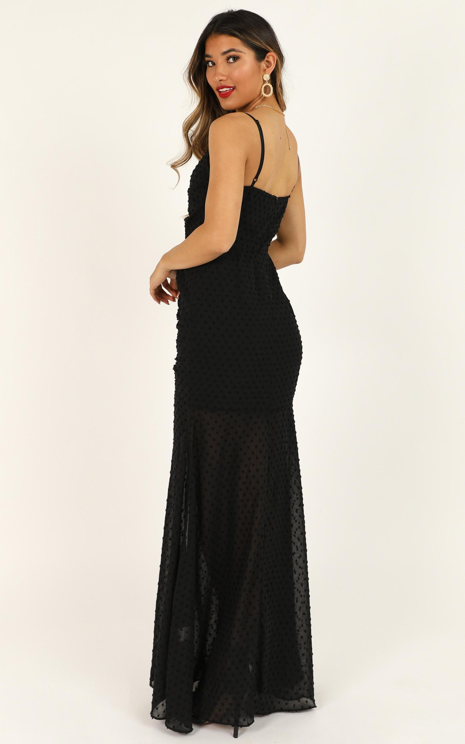Play nice maxi dress in black - 20 (XXXXL), Black, hi-res image number null