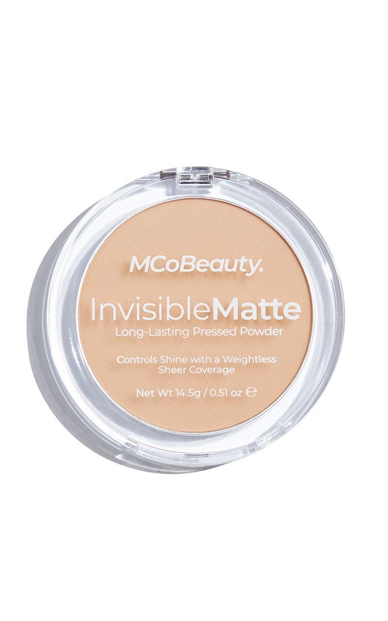 MCoBeauty - Invisible Matte Pressed Powder in Translucent, Tan, hi-res image number null