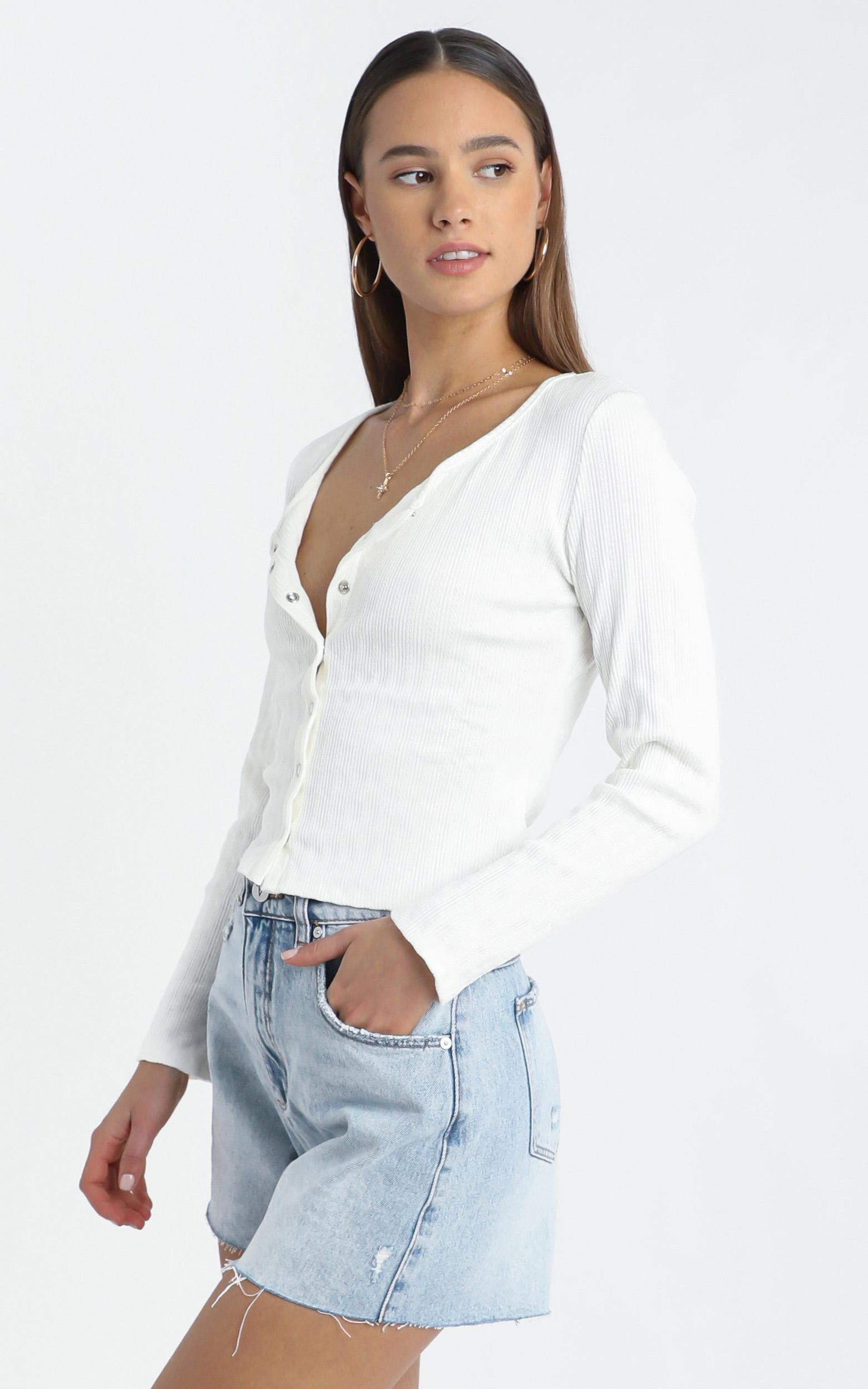 Barton Top in White - 12 (L), White, hi-res image number null