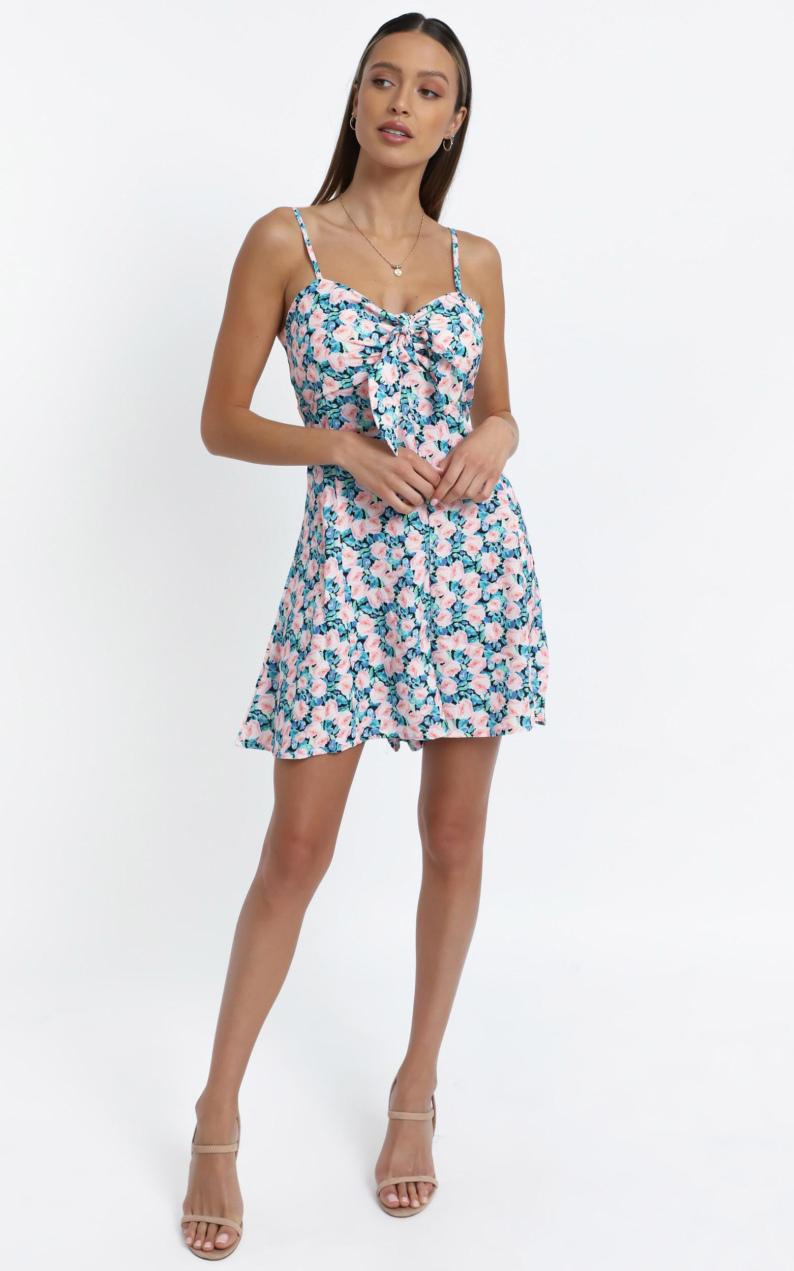 Haiden Swing Dress in MultiFloral - 12 (L), Multi, hi-res image number null