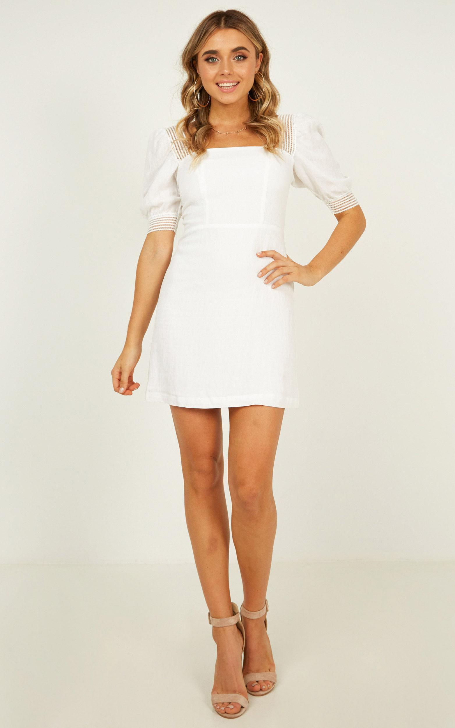 Image Of Her dress in white - 12 (L), White, hi-res image number null