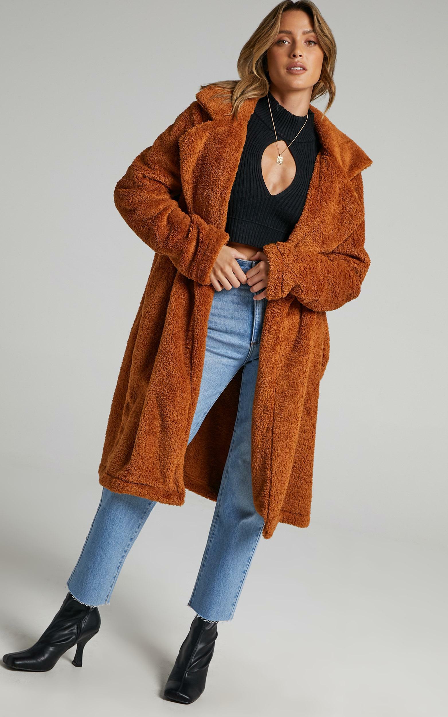 Adairia Coat in Camel - 6 (XS), Camel, hi-res image number null