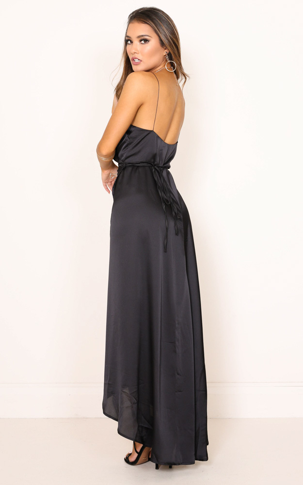 The Countess dress in black - 14 (XL), Black, hi-res image number null