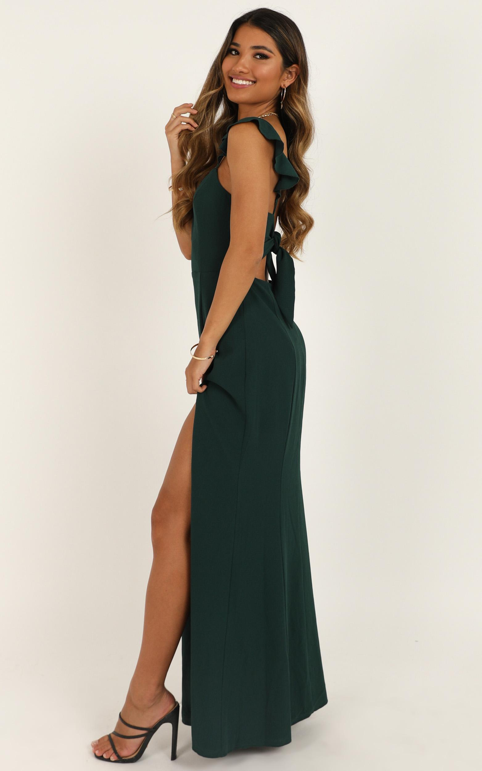 More Than This Dress In emerald - 20 (XXXXL), Green, hi-res image number null