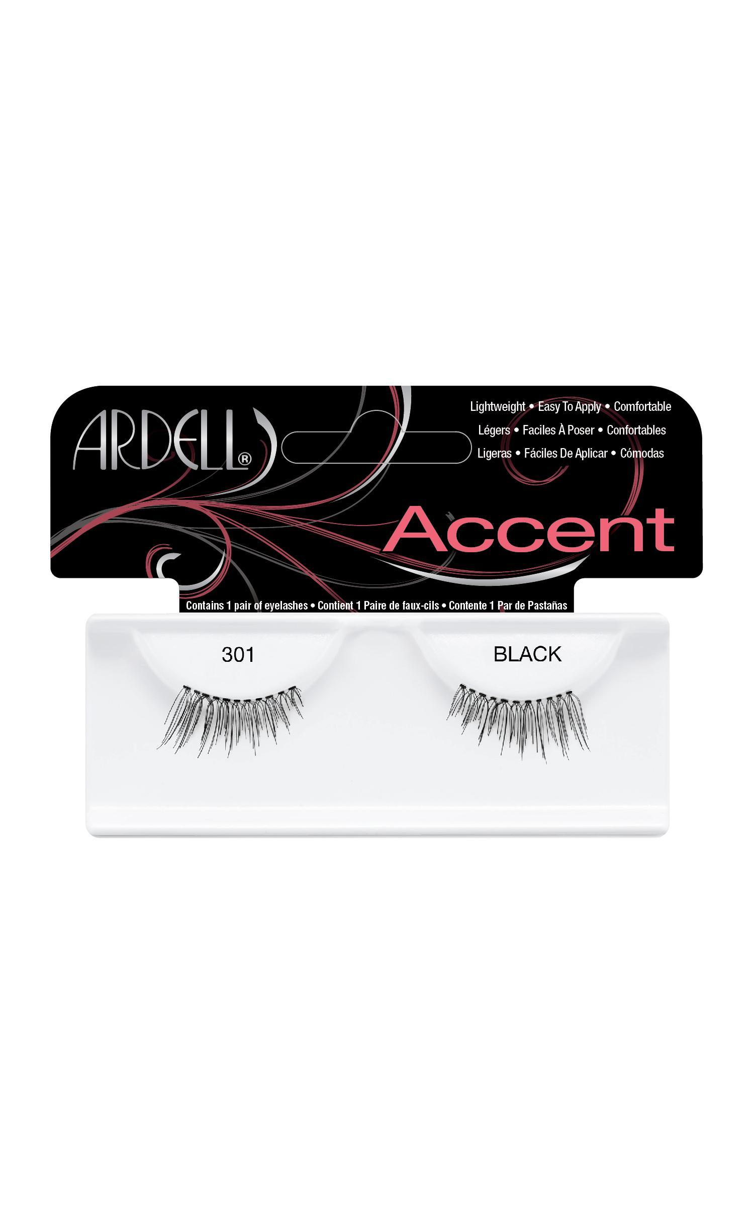 Ardell - Accent Lashes 301 in Black, BLK1, hi-res image number null