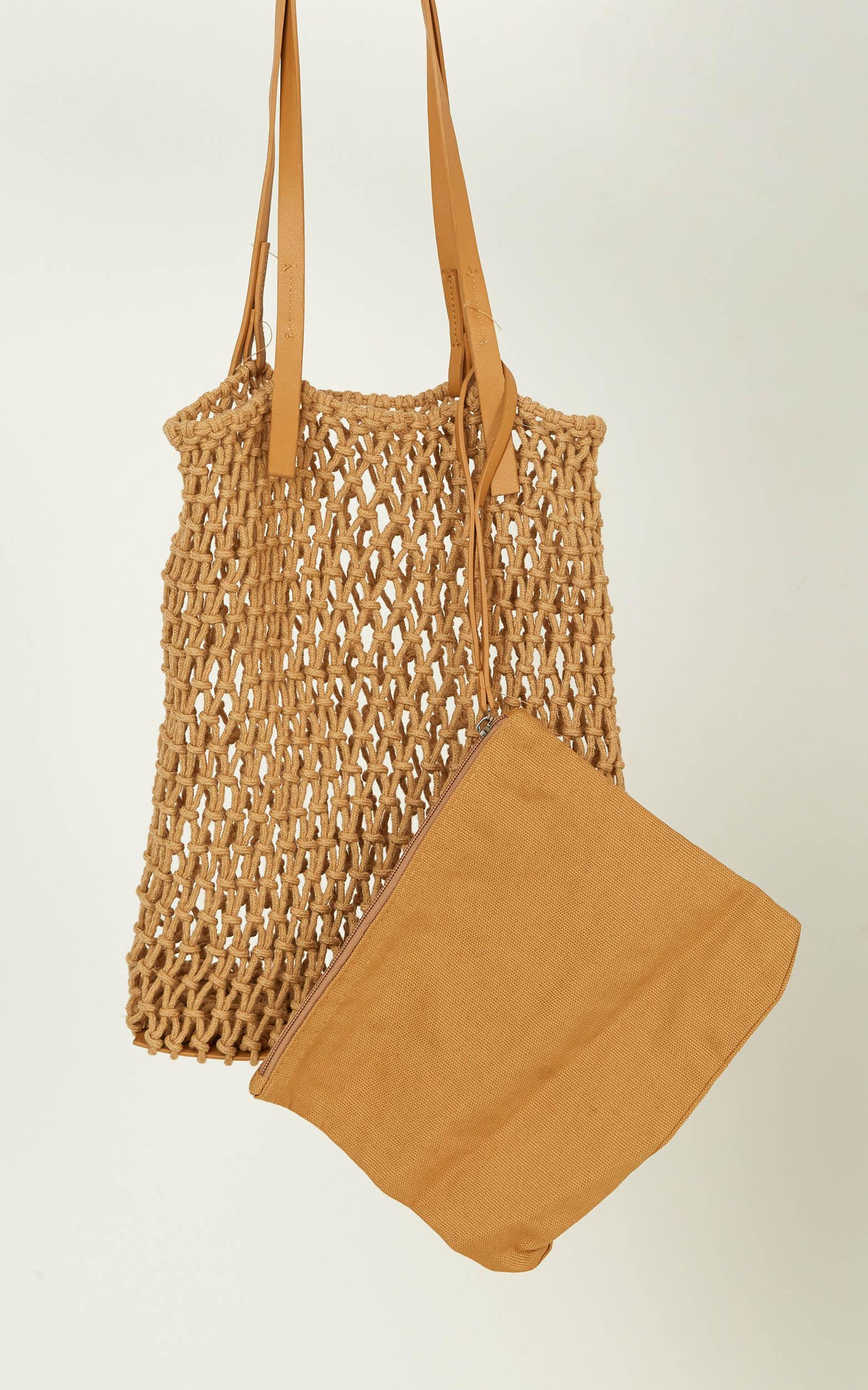 What Lovers Do Bag In Tan, Tan, hi-res image number null
