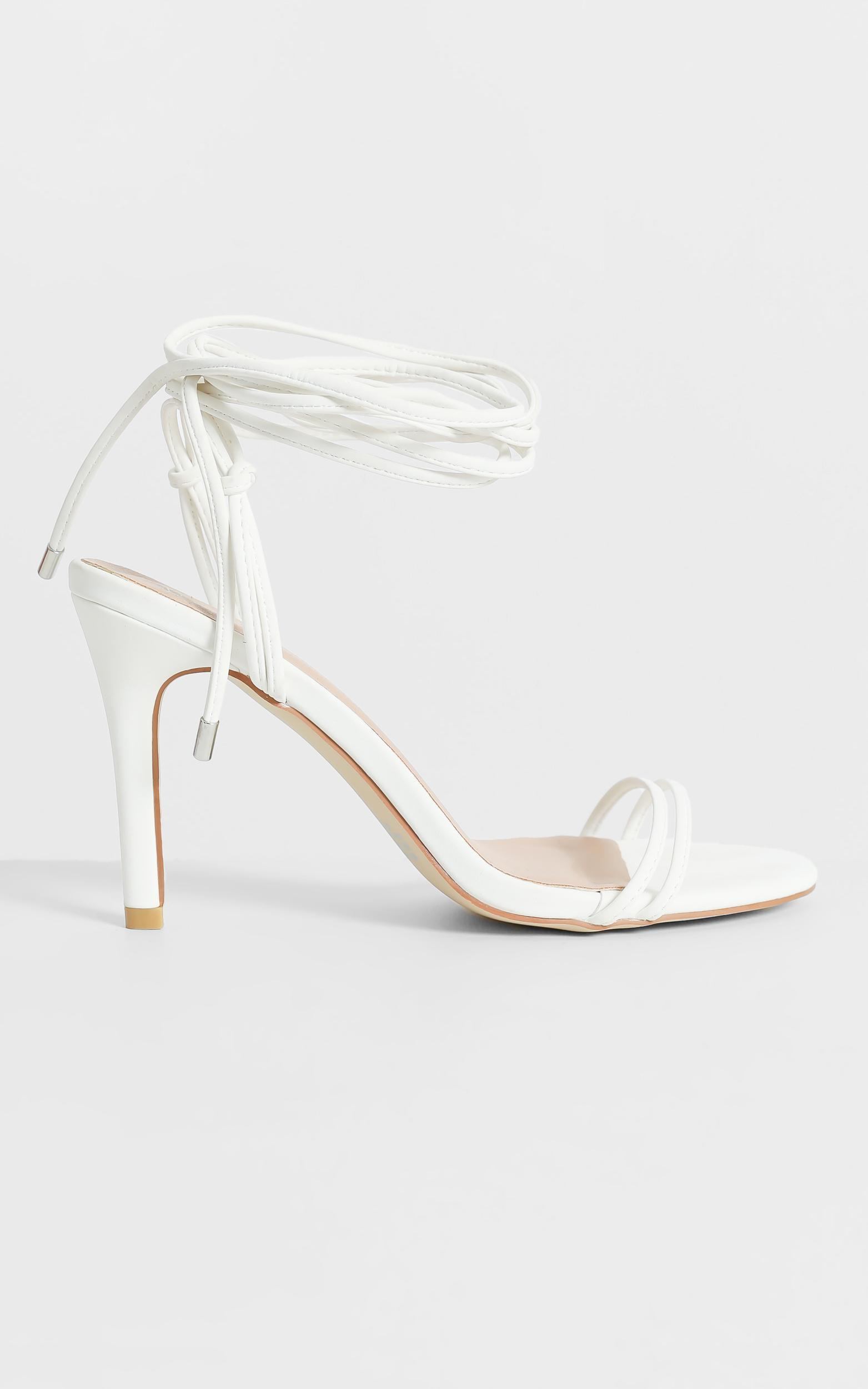 Therapy - Vibes Heels in White - 5, White, hi-res image number null