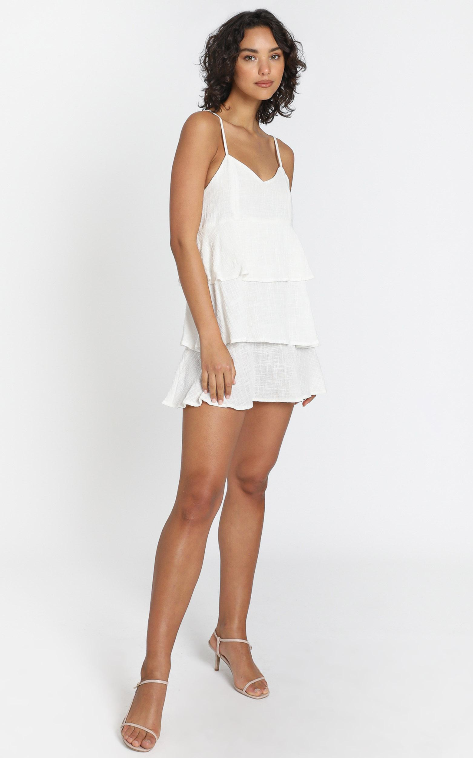 Angelica Dress in White - 6 (XS), White, hi-res image number null