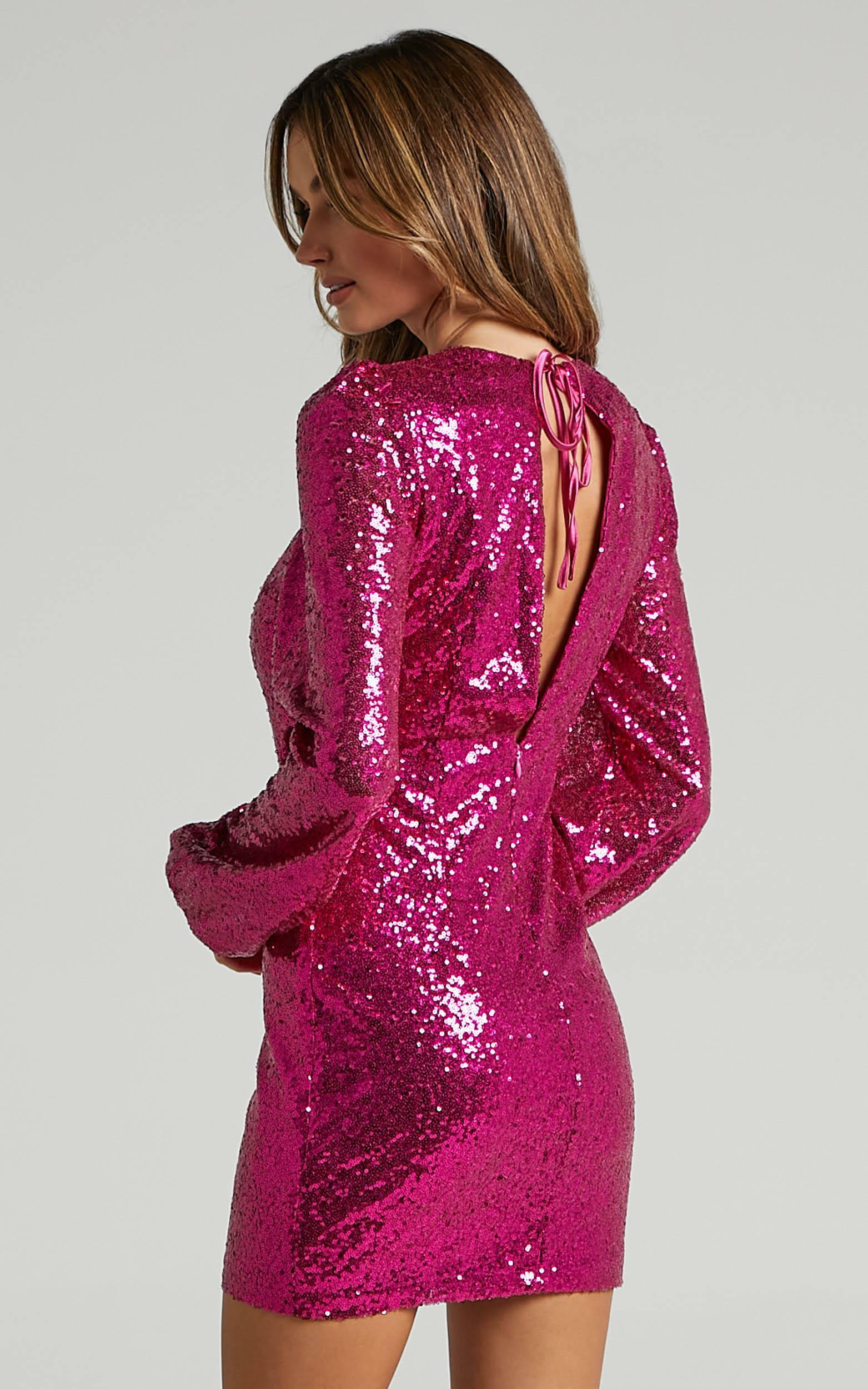 Bambie Dress in Pink - 06, PNK2, hi-res image number null