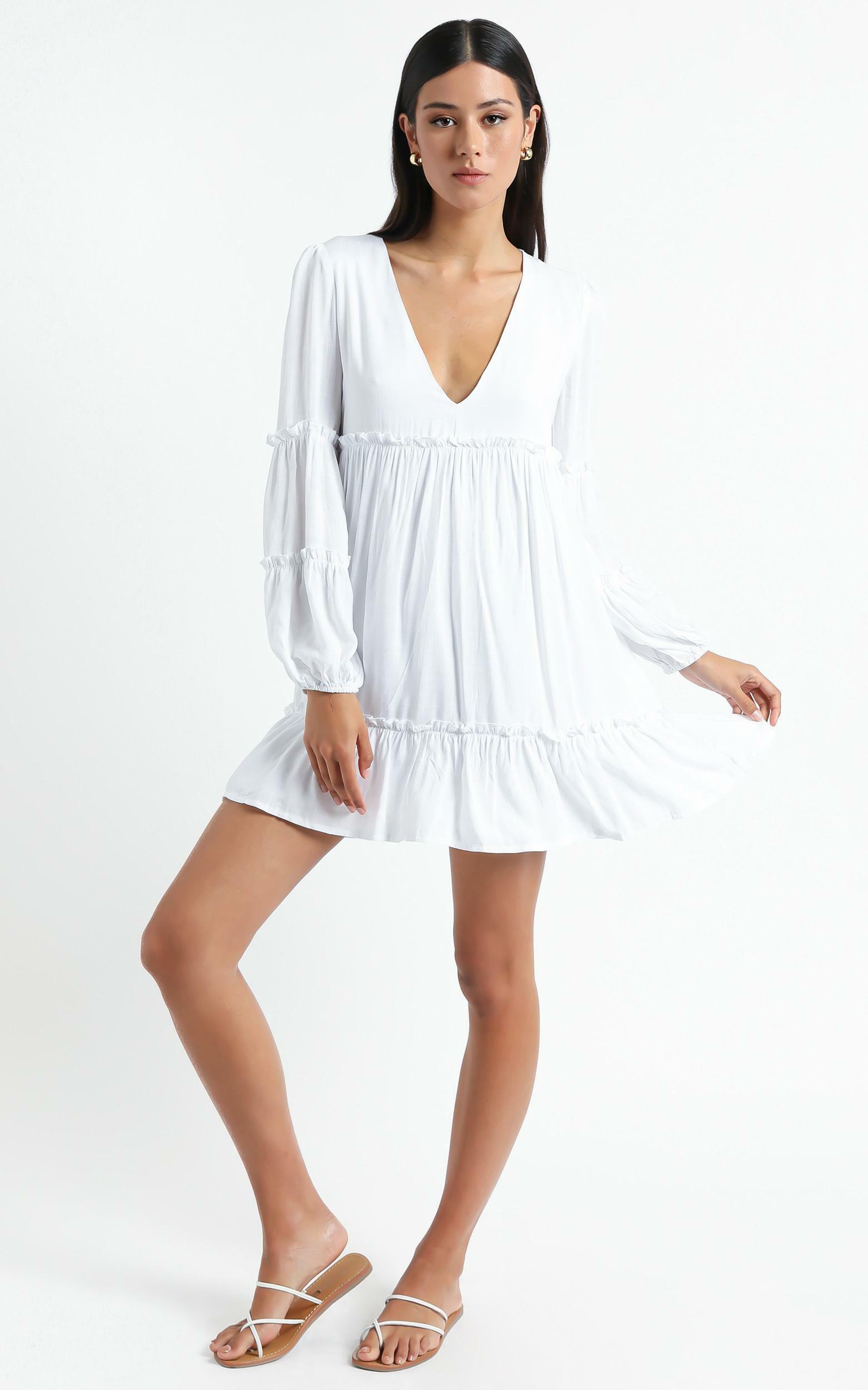Summer Soul Dress in White - 20, WHT3, hi-res image number null