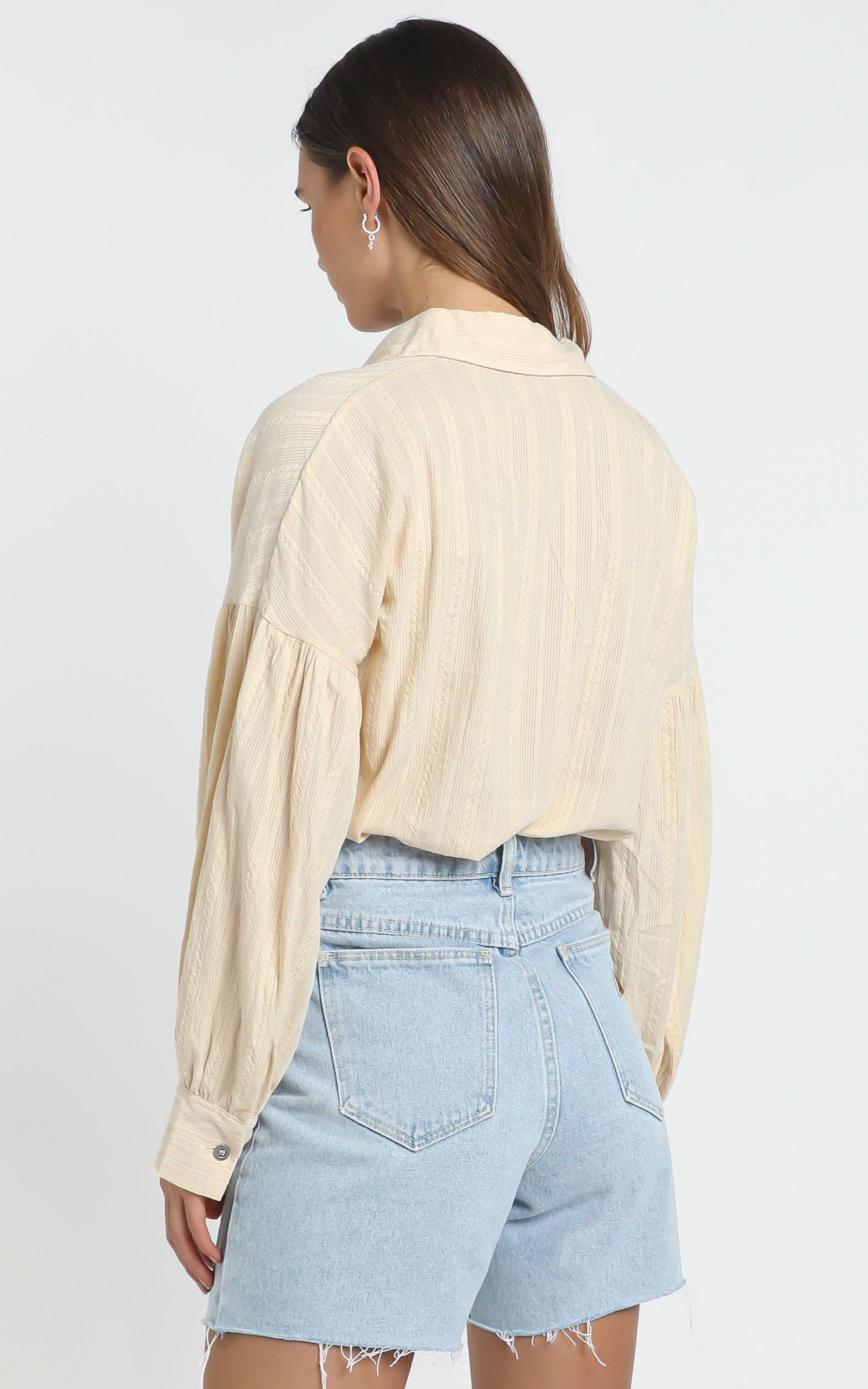 Lennon Shirt in Beige - 14 (XL), Beige, hi-res image number null