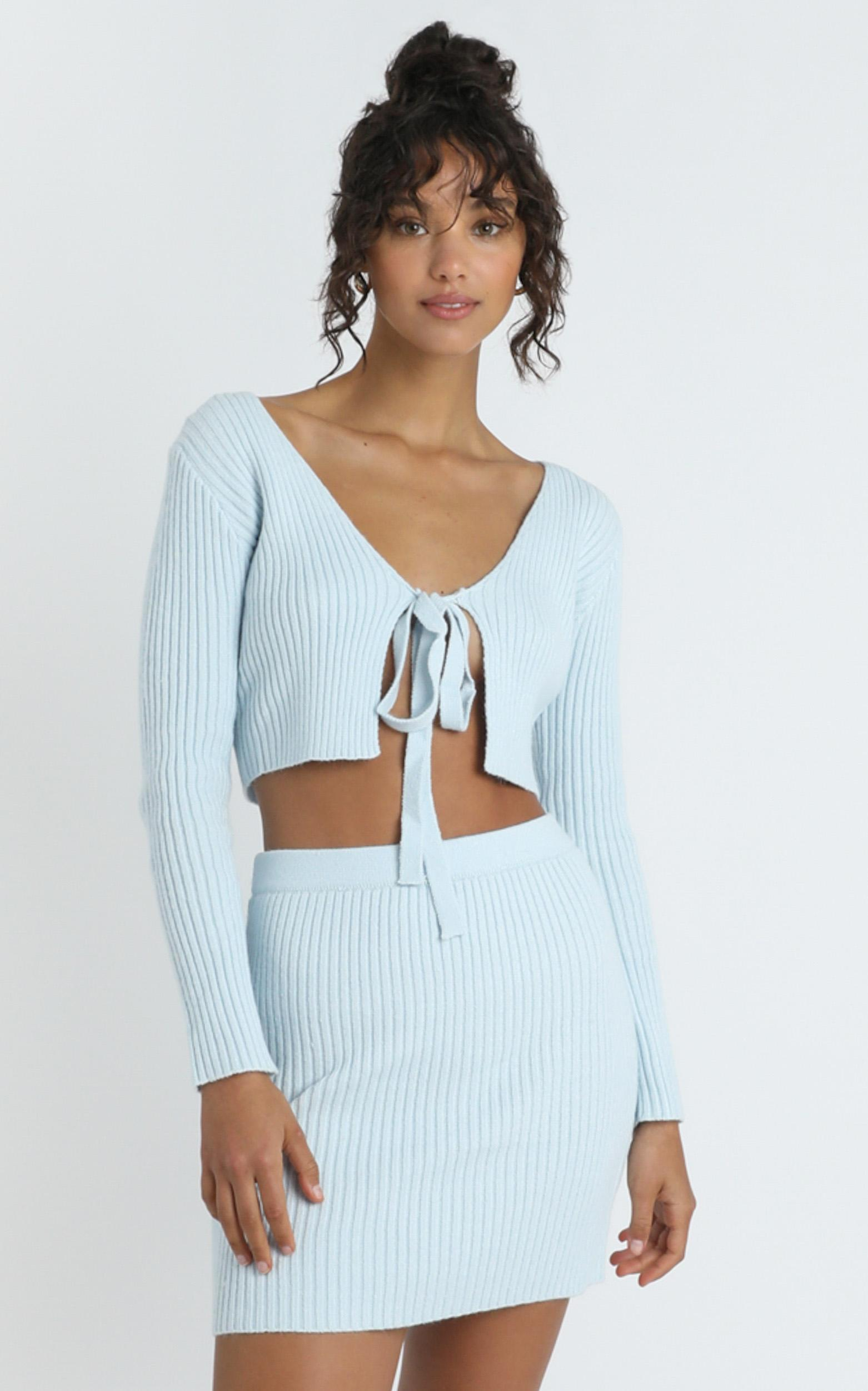 Winifred Top in  Pastel Blue - 8 (S), Blue, hi-res image number null