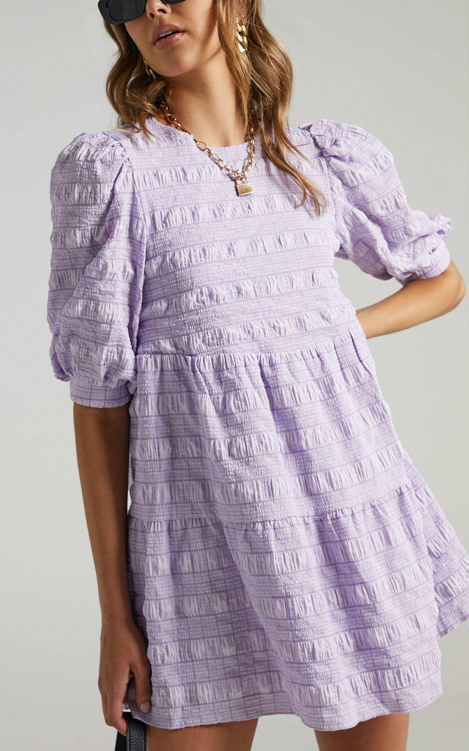 Darcia Dress in Lilac Check - 6 (XS), PRP3, hi-res image number null
