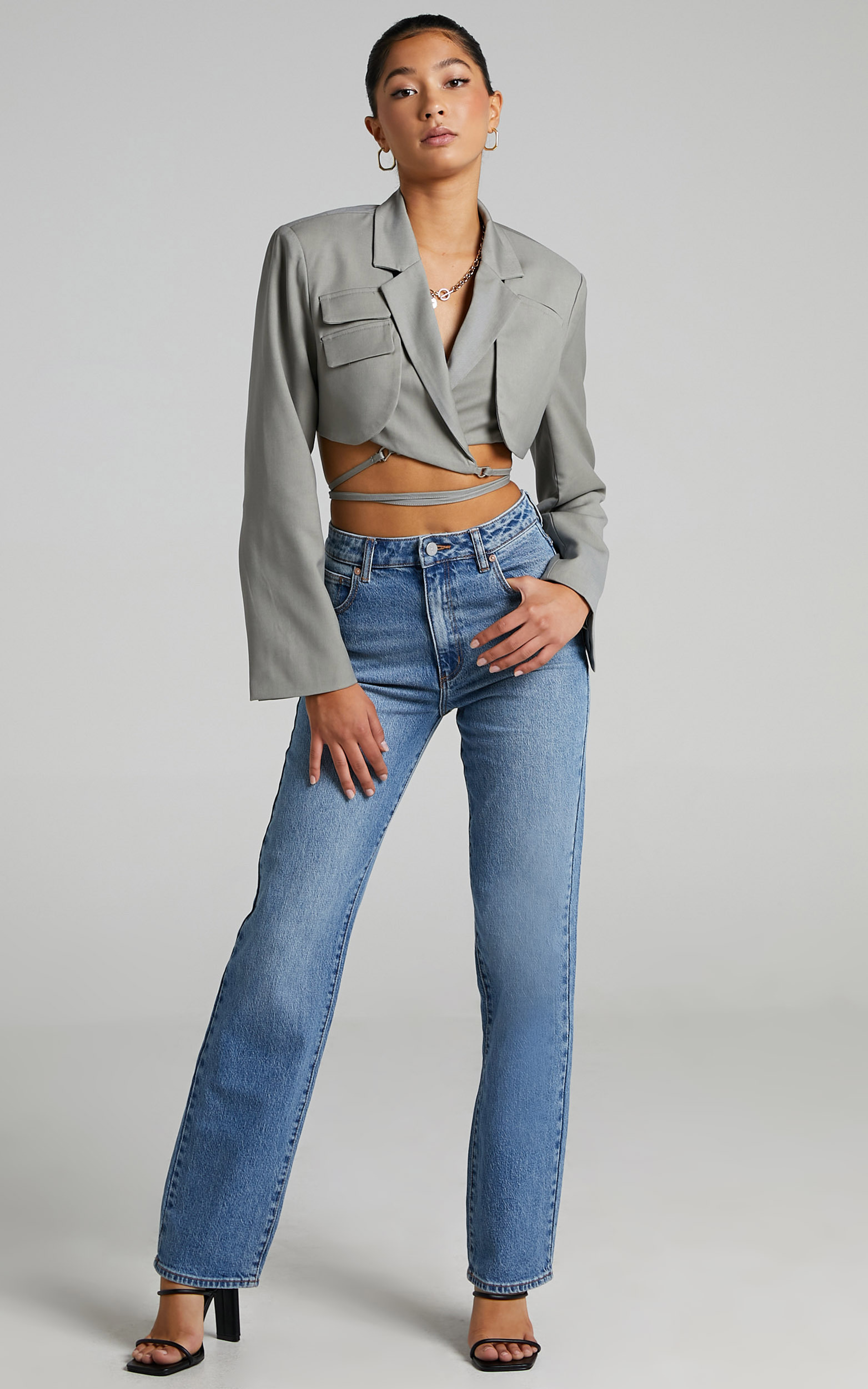 Abrand - A 94 High Straight Jean in Erin - 06, BLU1, hi-res image number null