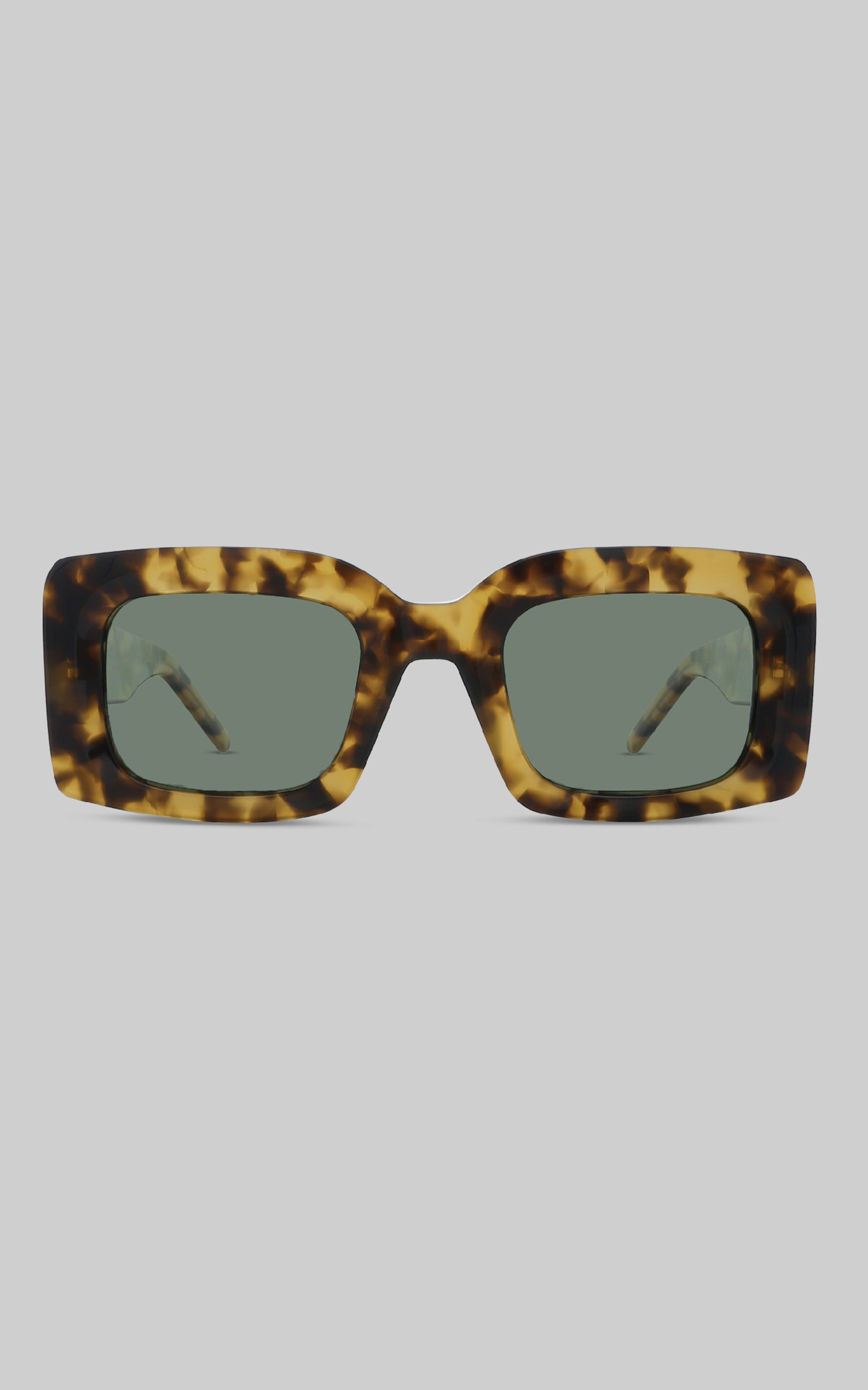 BANBE EYEWEAR - THE KENDALL in TORT-GREEN - NoSize, GRN3, hi-res image number null