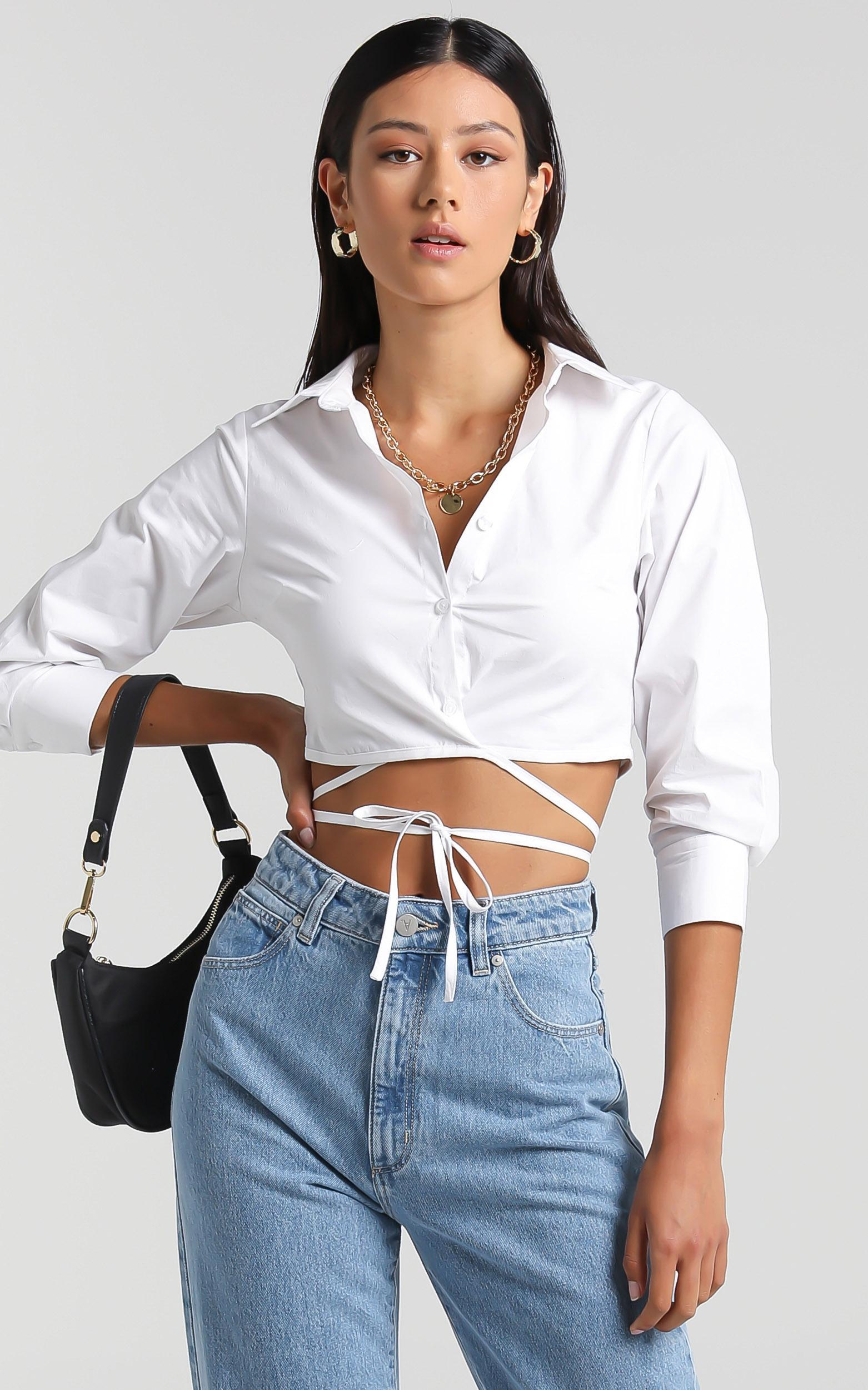 Orion Top in White - 6 (XS), White, hi-res image number null