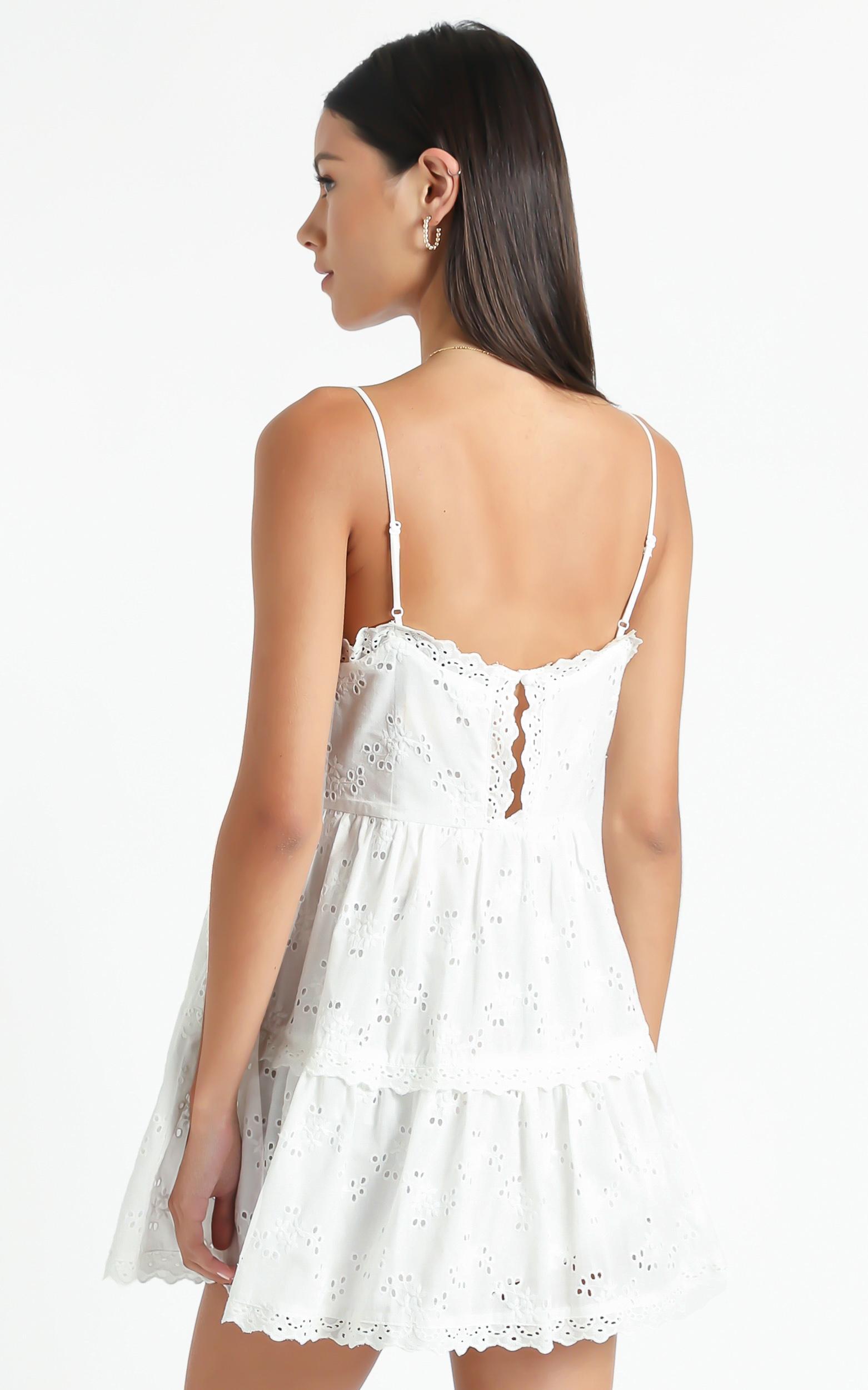 Hapi Dress in White - 6 (XS), White, hi-res image number null