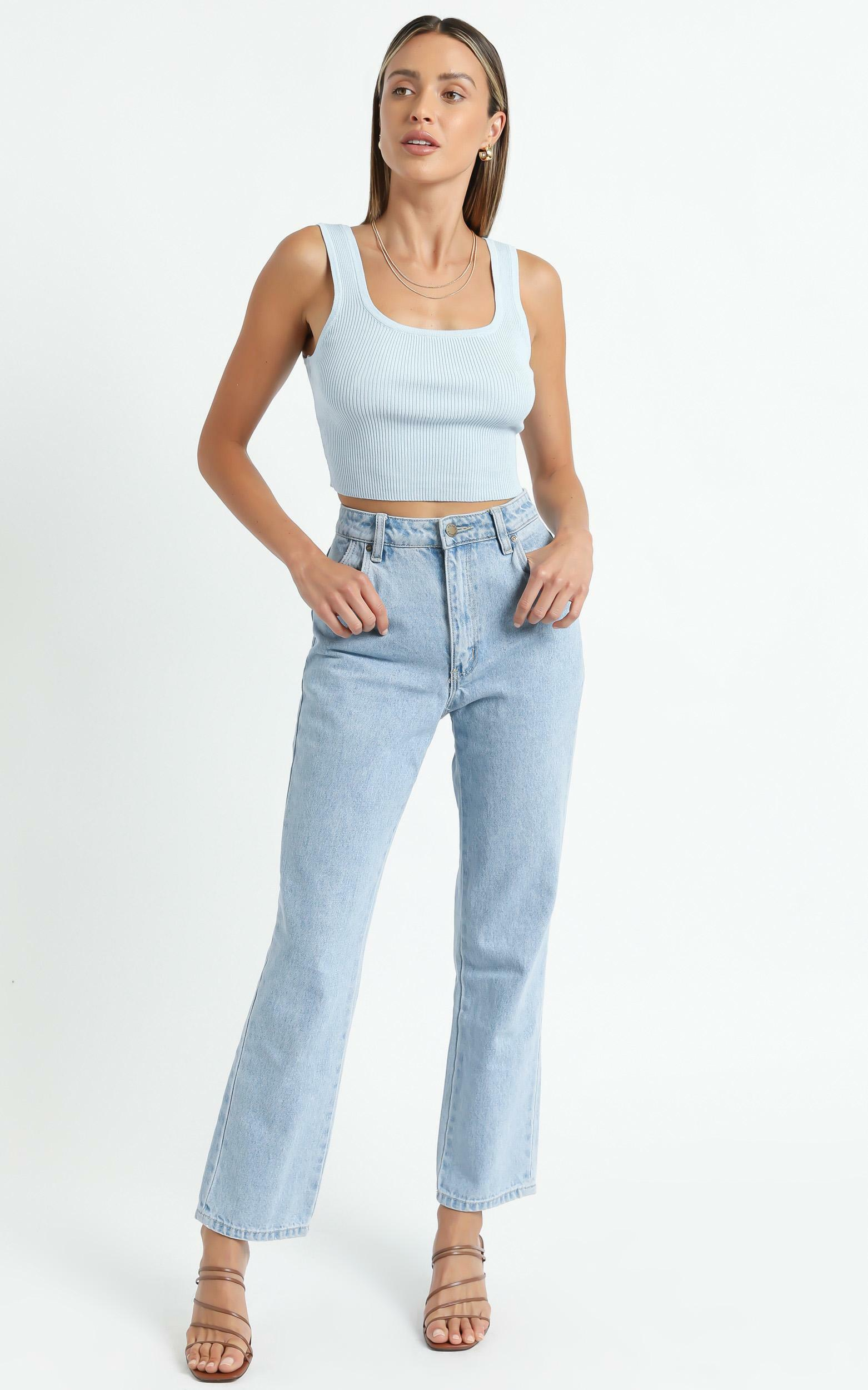 Essi Top in Blue - 6 (XS), Blue, hi-res image number null