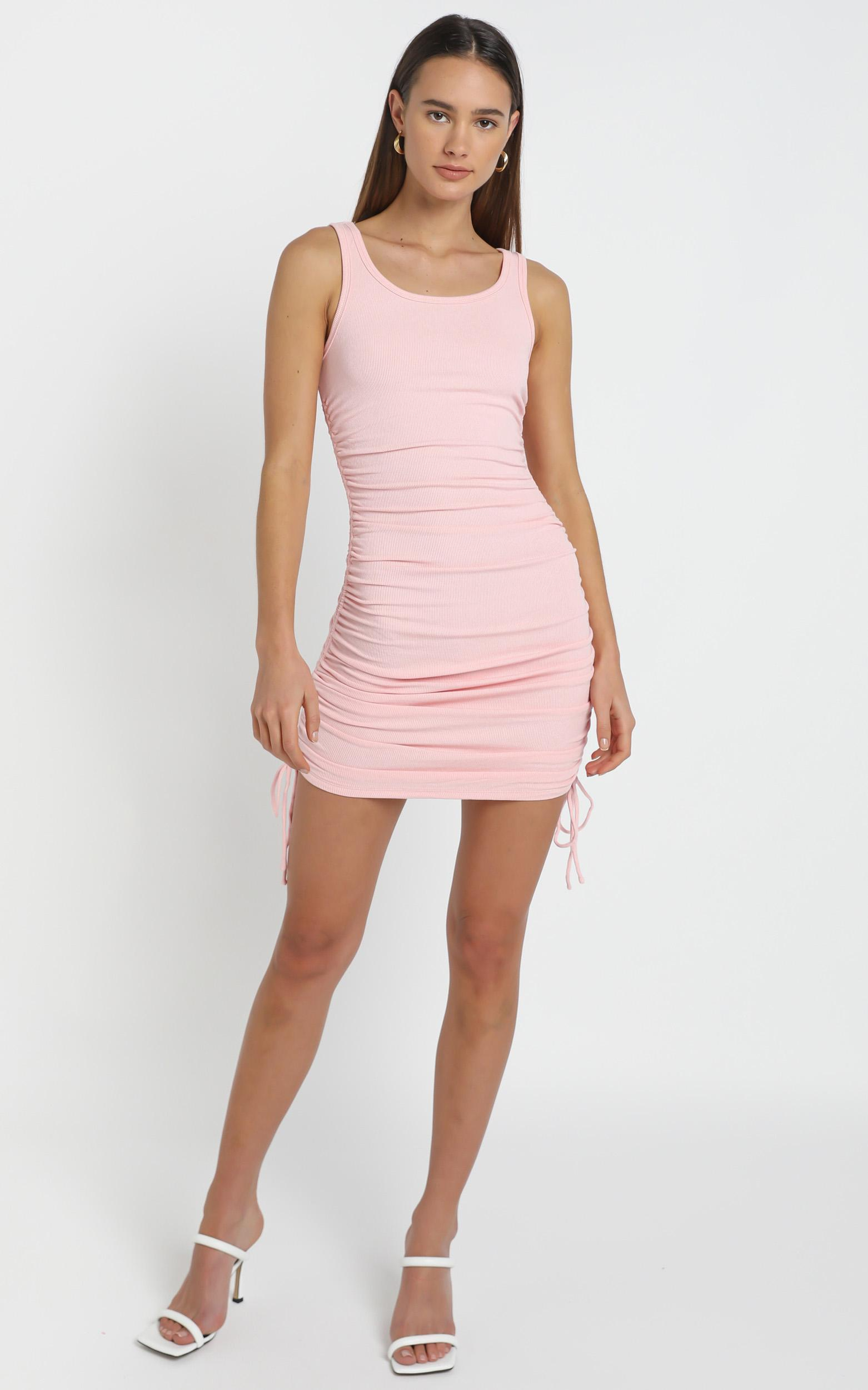 Kailey Dress in Pink - 12 (L), Pink, hi-res image number null