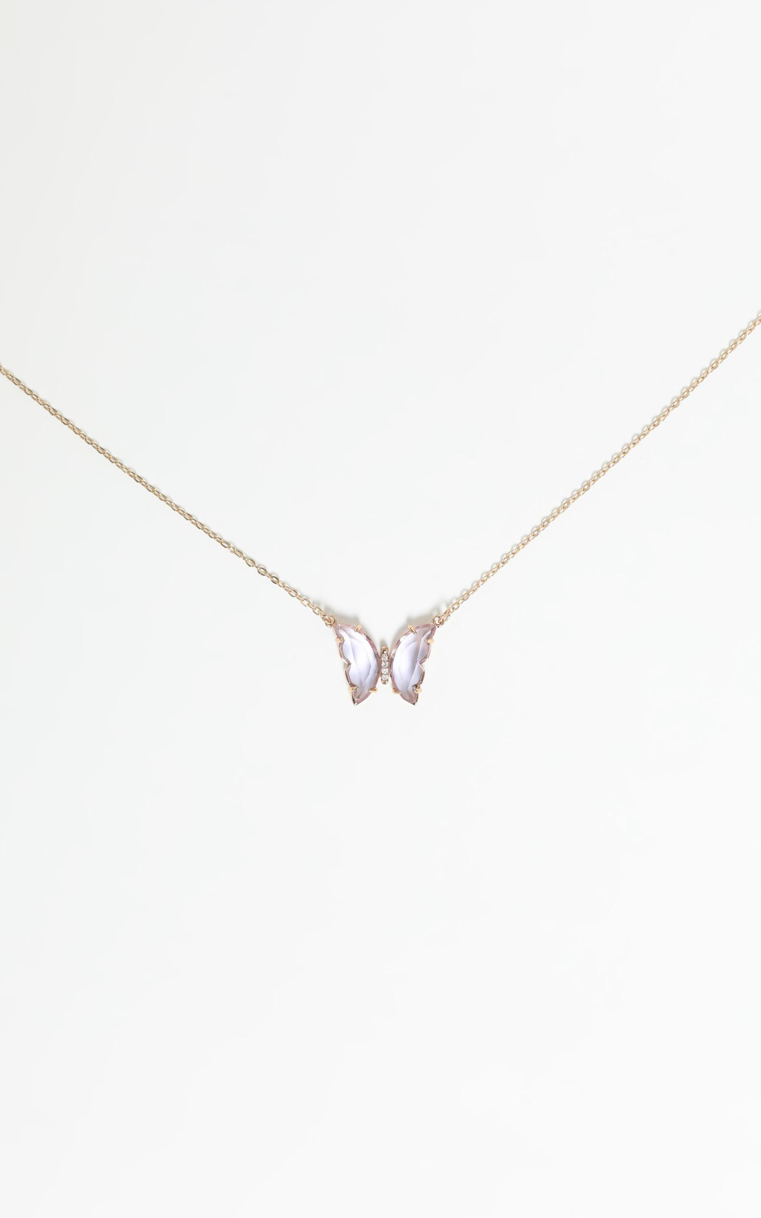 Talulla Necklace in Gold, , hi-res image number null