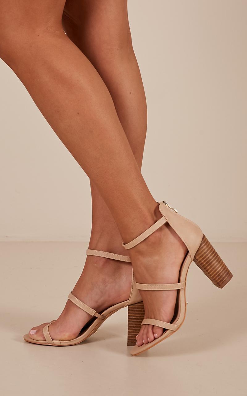 Billini - Dallas heels in nude - 10, Neutral, hi-res image number null