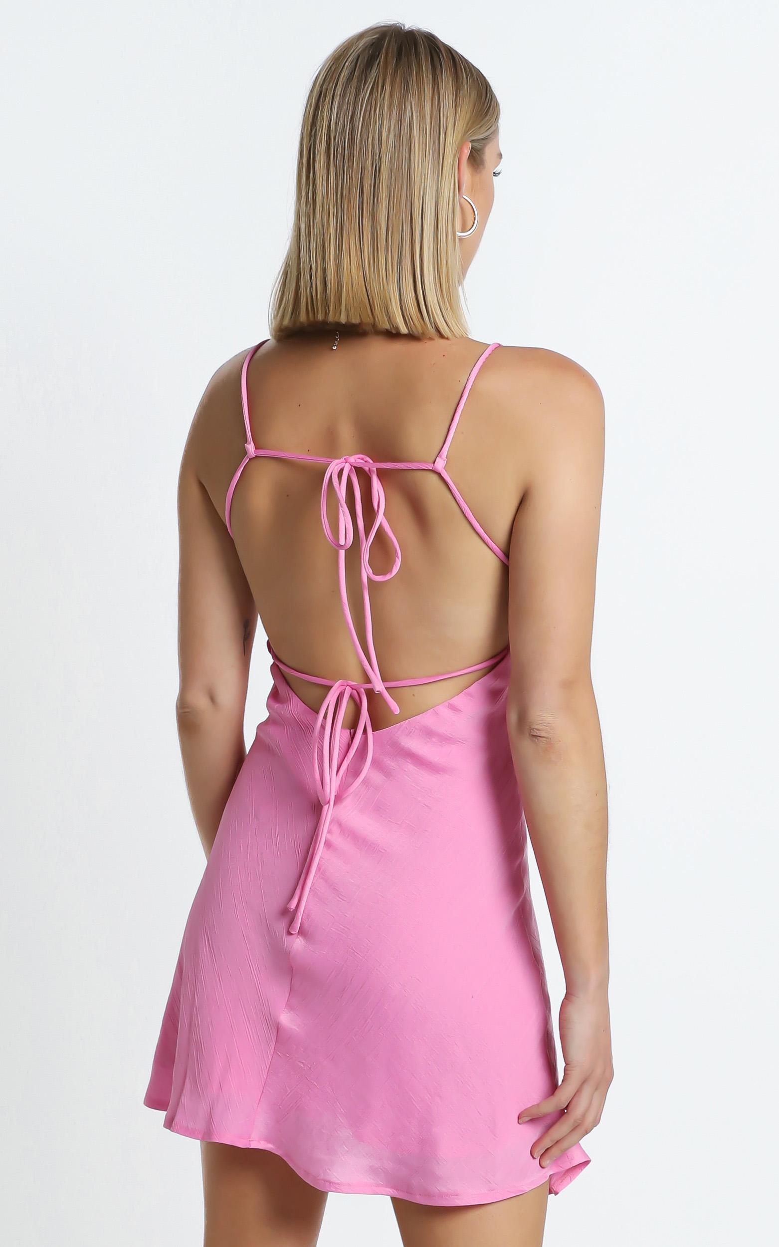 Tilbury Dress in Pink - 6 (XS), Pink, hi-res image number null