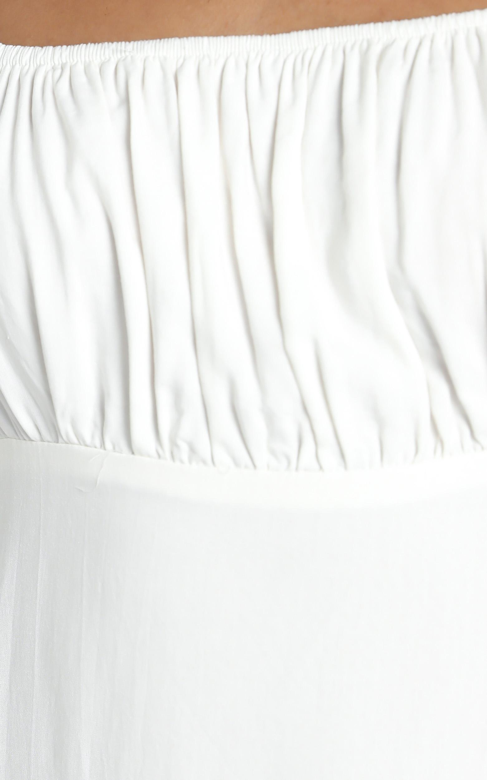 Penelope Dress in White - 12 (L), White, hi-res image number null