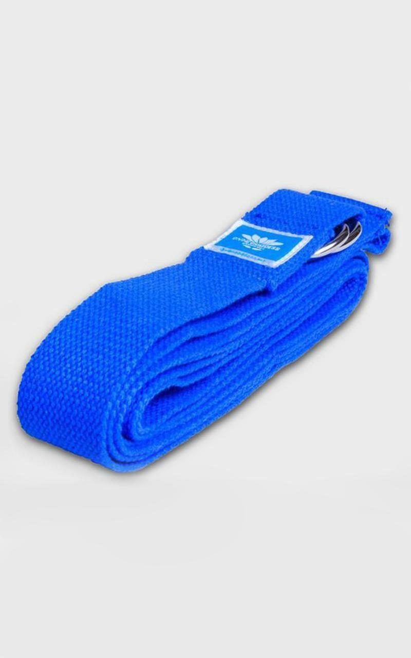 Divine Goddess - Yoga Straps in Blue, Blue, hi-res image number null