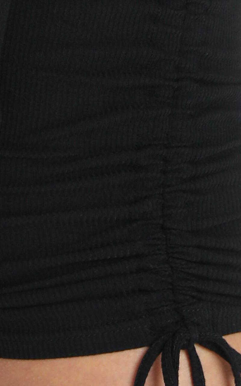 Siusan Dress in Black - 6 (XS), Black, hi-res image number null