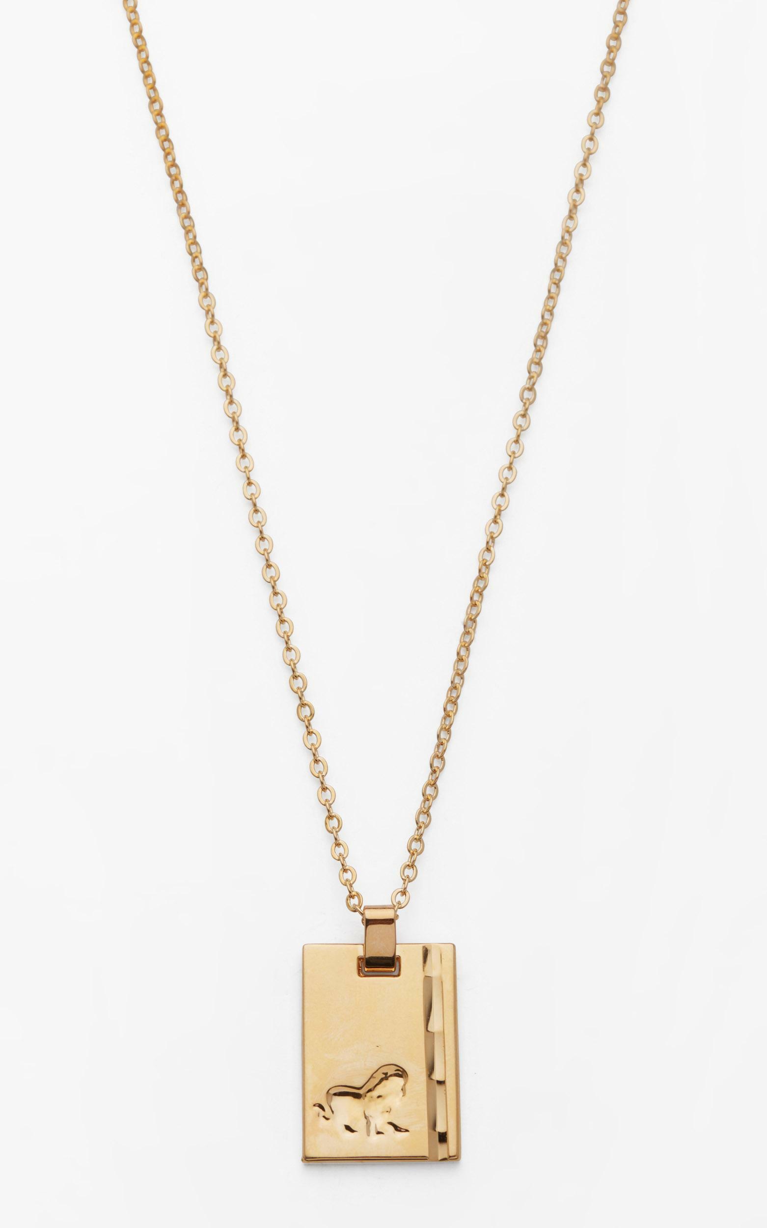 Reliquia - Leo Star Sign Pendant in Gold, GLD1, hi-res image number null