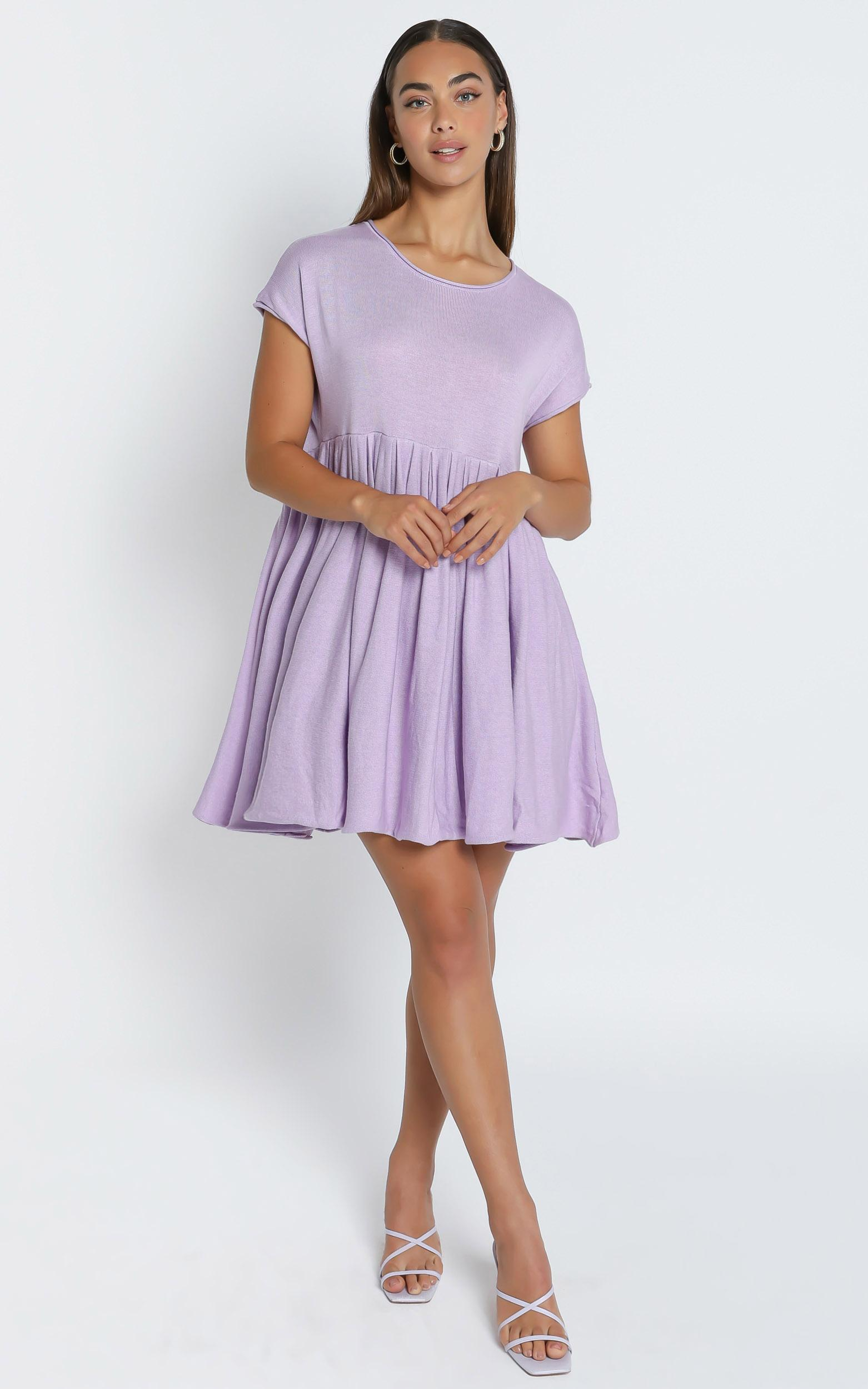 Embry Knit Dress in Lilac - 6 (XS), PRP3, hi-res image number null