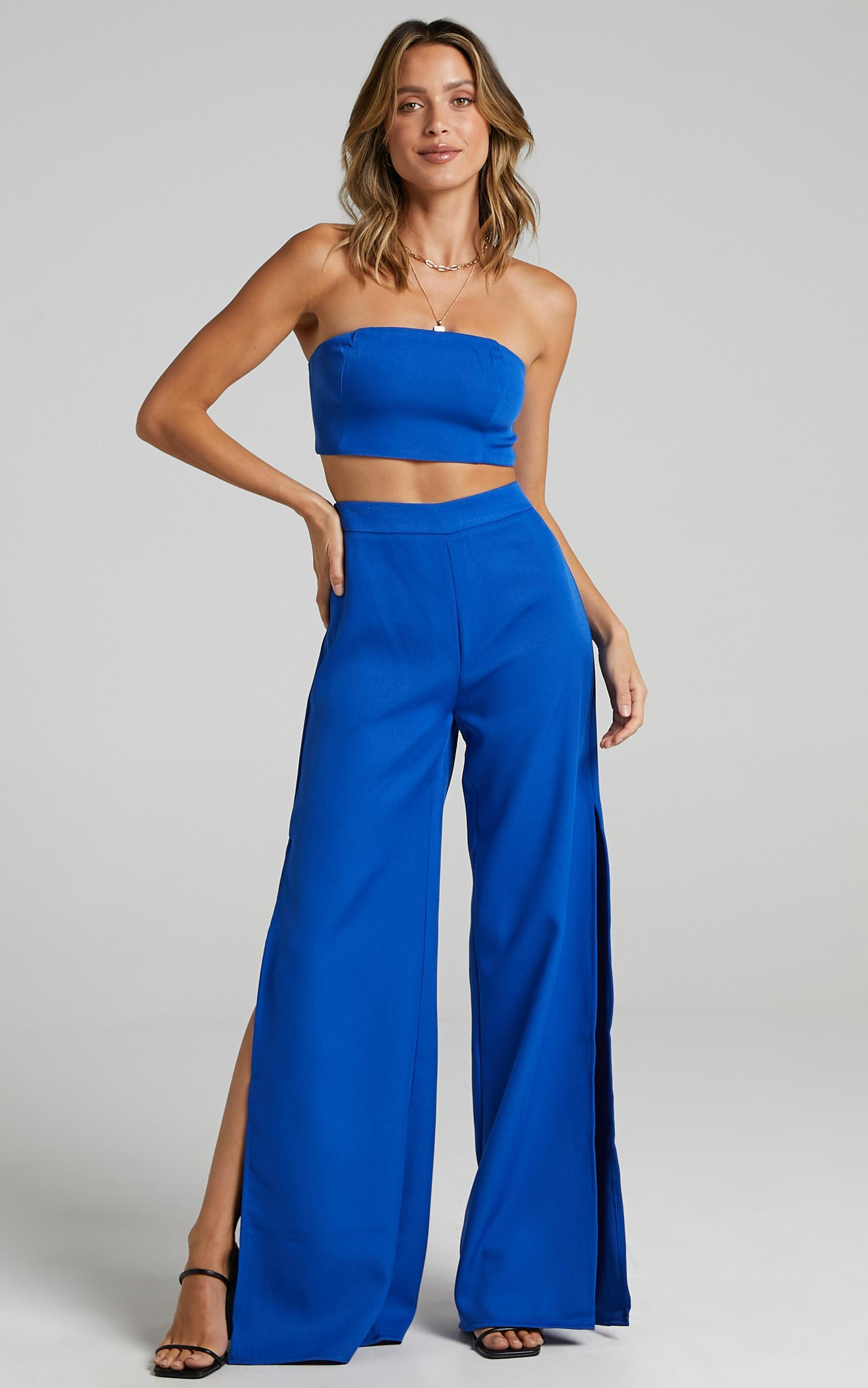 Im The One Two Piece Set In Cobalt - 4 (XXS), BLU16, hi-res image number null