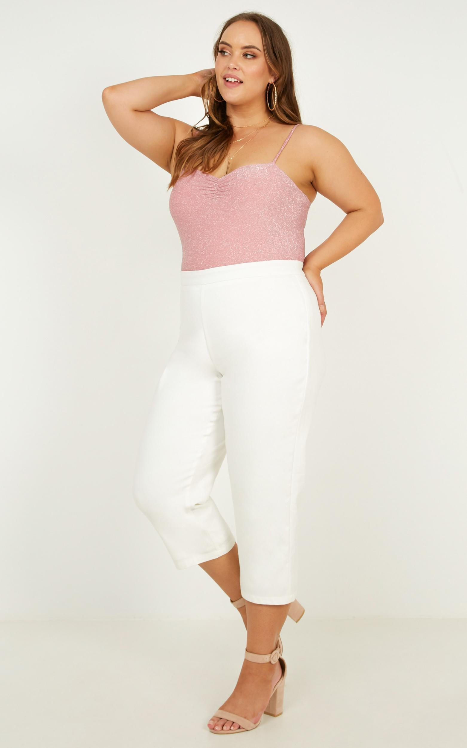 Not My Day bodysuit In pink - 20 (XXXXL), Pink, hi-res image number null