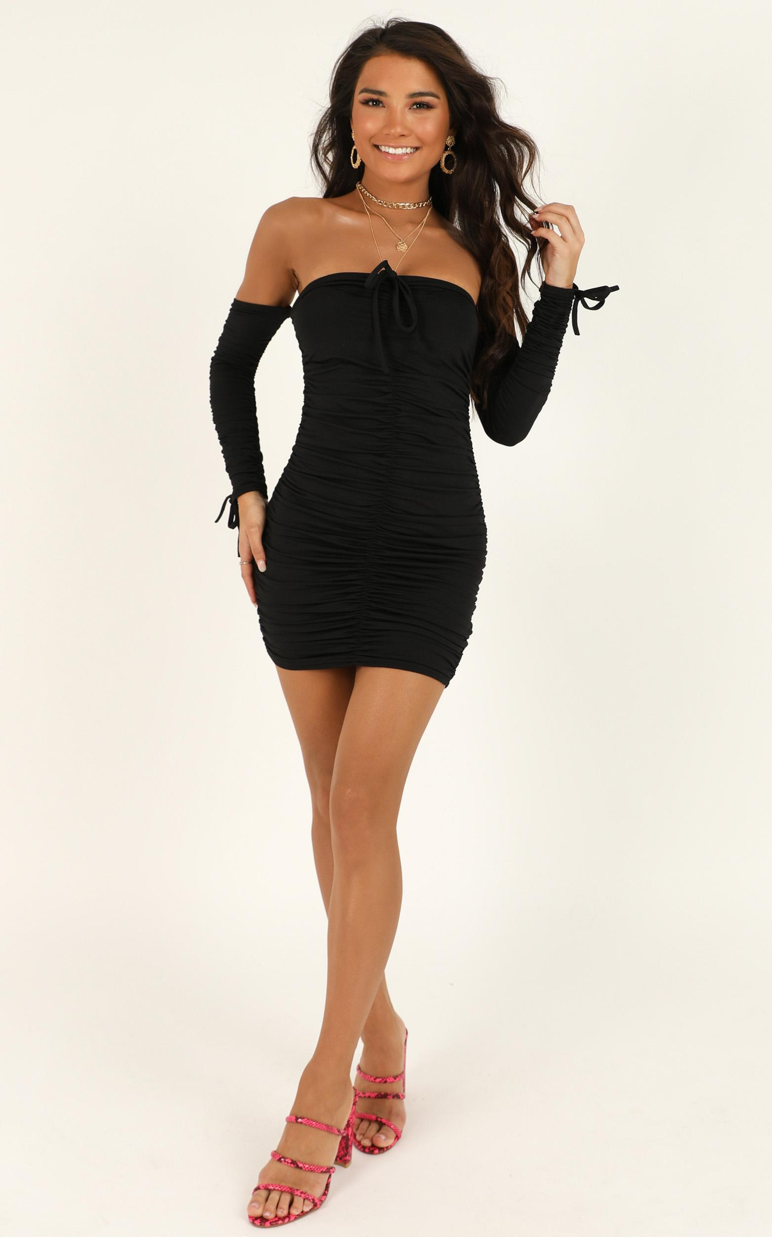 This Is Paradise dress in black - 12 (L), Black, hi-res image number null