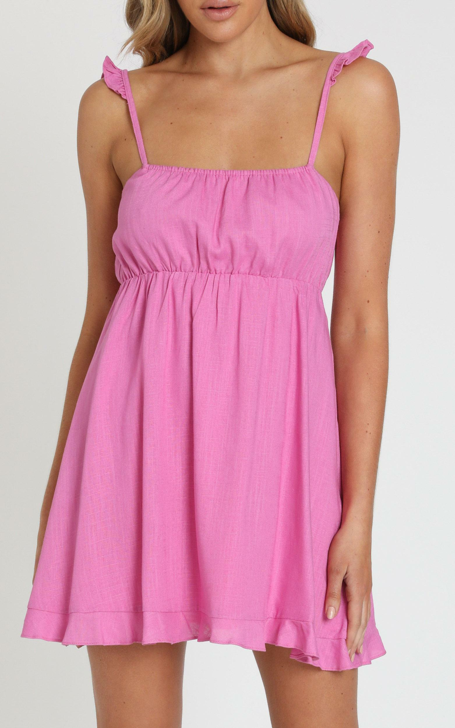 Wild Beauty Dress in pink - 20 (XXXXL), Pink, hi-res image number null