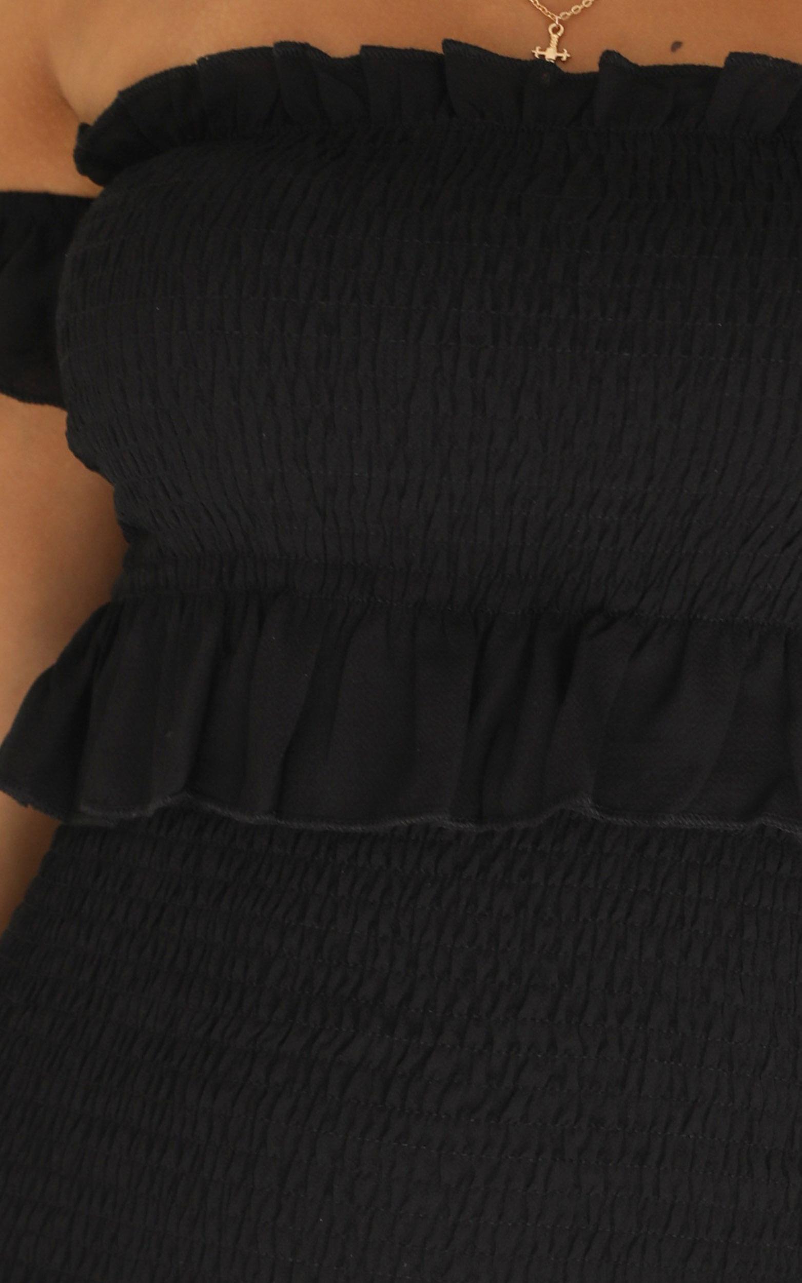Start Confessing dress in black - 12 (L), Black, hi-res image number null