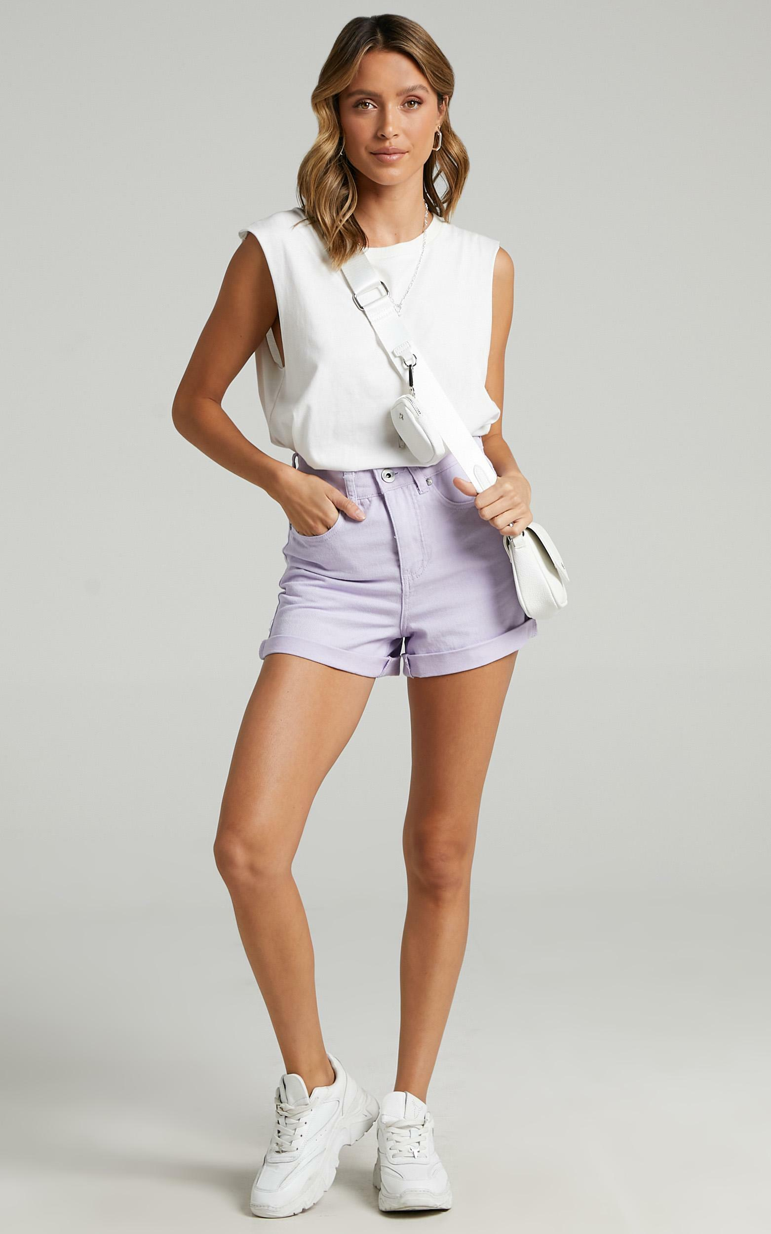 Heidi Shorts in Lilac - 6 (XS), Purple, hi-res image number null