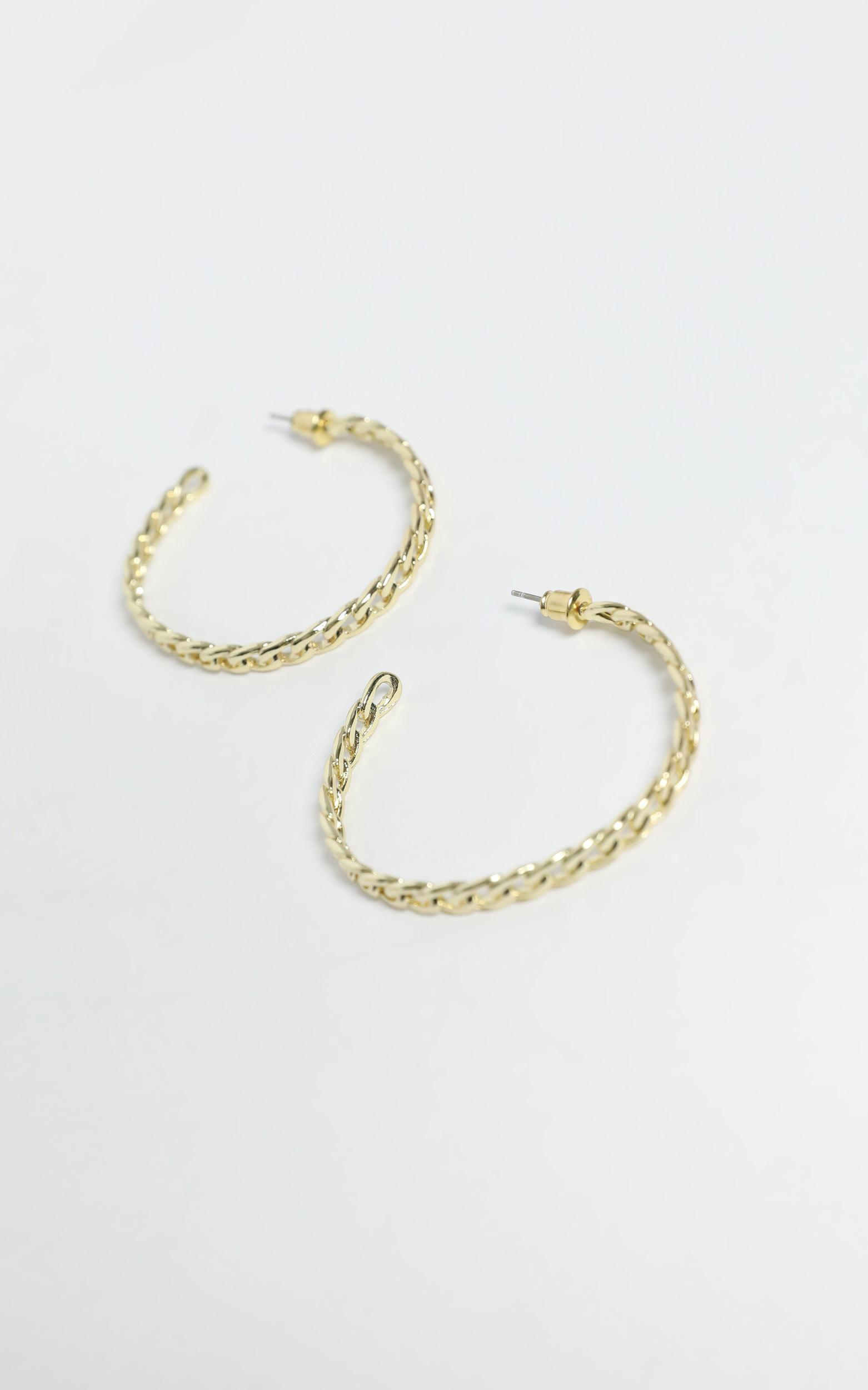 Gizela Earrings in Gold, , hi-res image number null