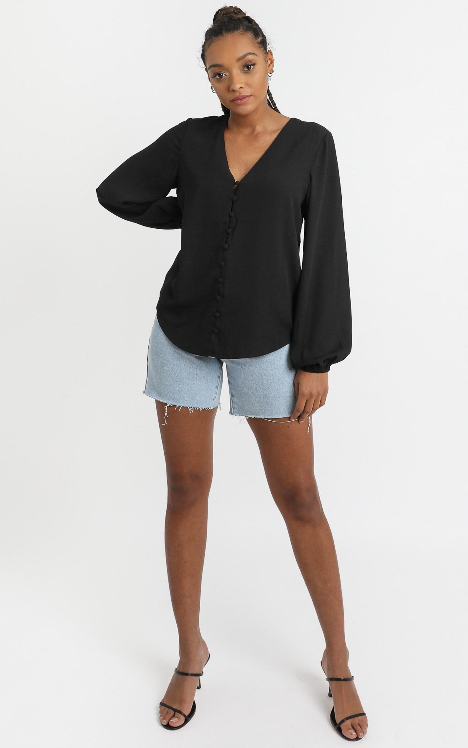 Cant control Myself Top in black - 4 (XXS), Black, hi-res image number null