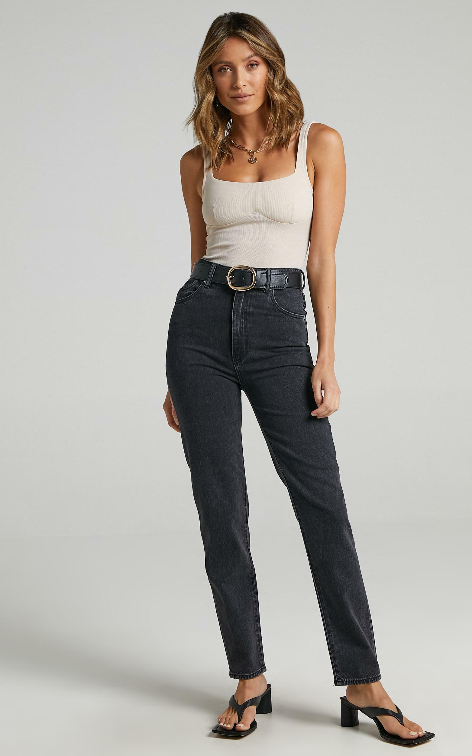 Rollas - Dusters Jean in Comfort Shadow - 06, BLK1, hi-res image number null