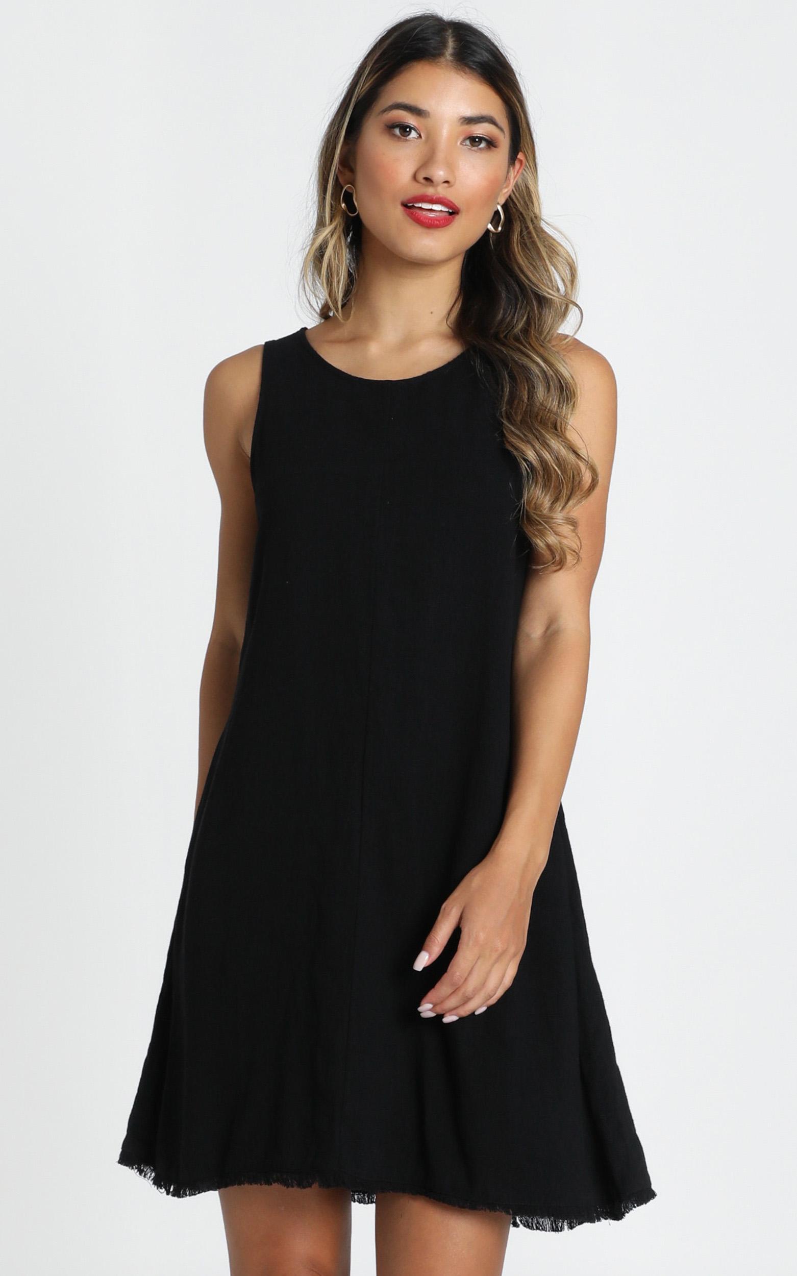 Dimitra Dress in black - 6 (XS), Black, hi-res image number null