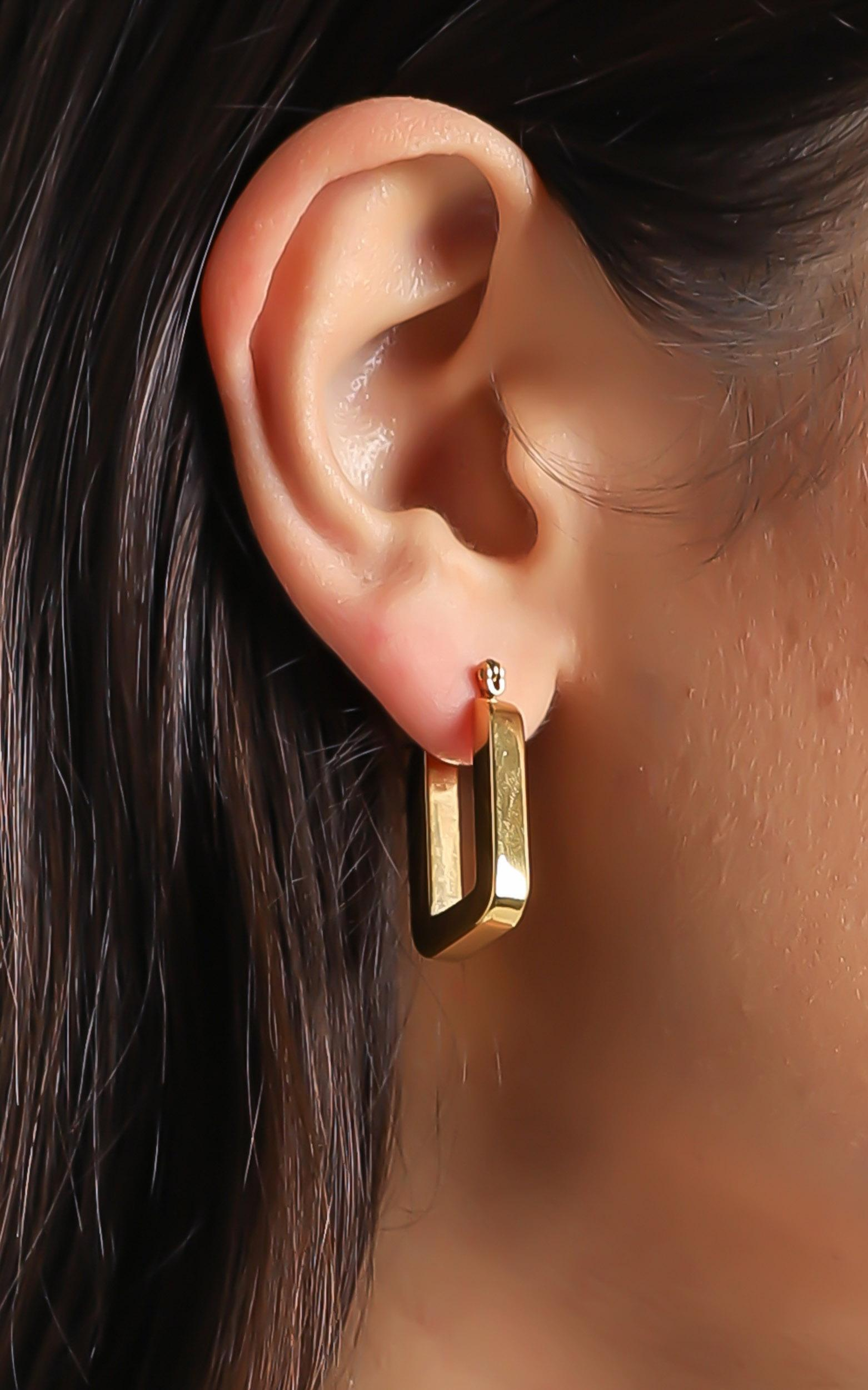 Billini - Meadow Gold Plated Earrings , , hi-res image number null