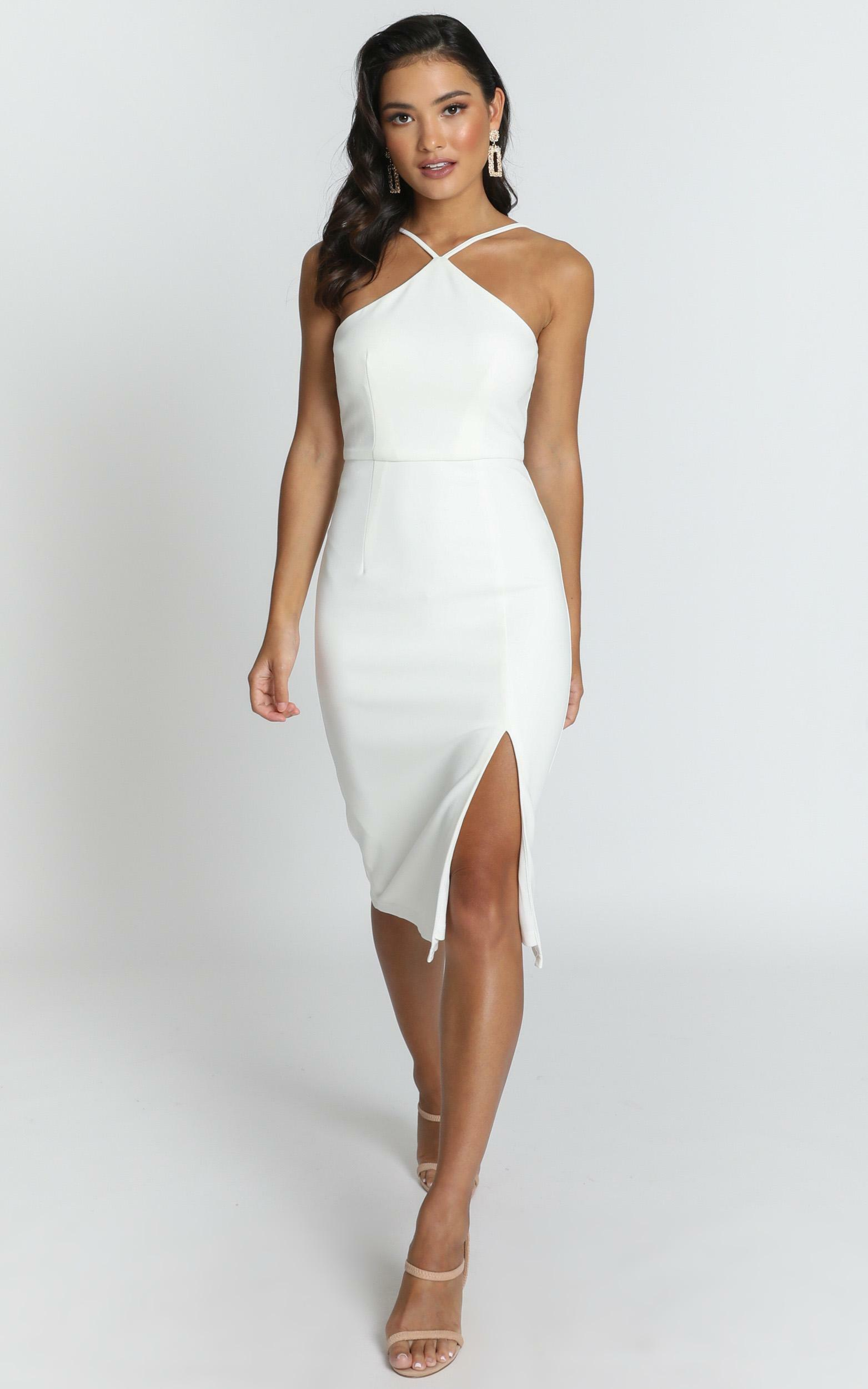 Missed The Point Dress in white - 12 (L), White, hi-res image number null