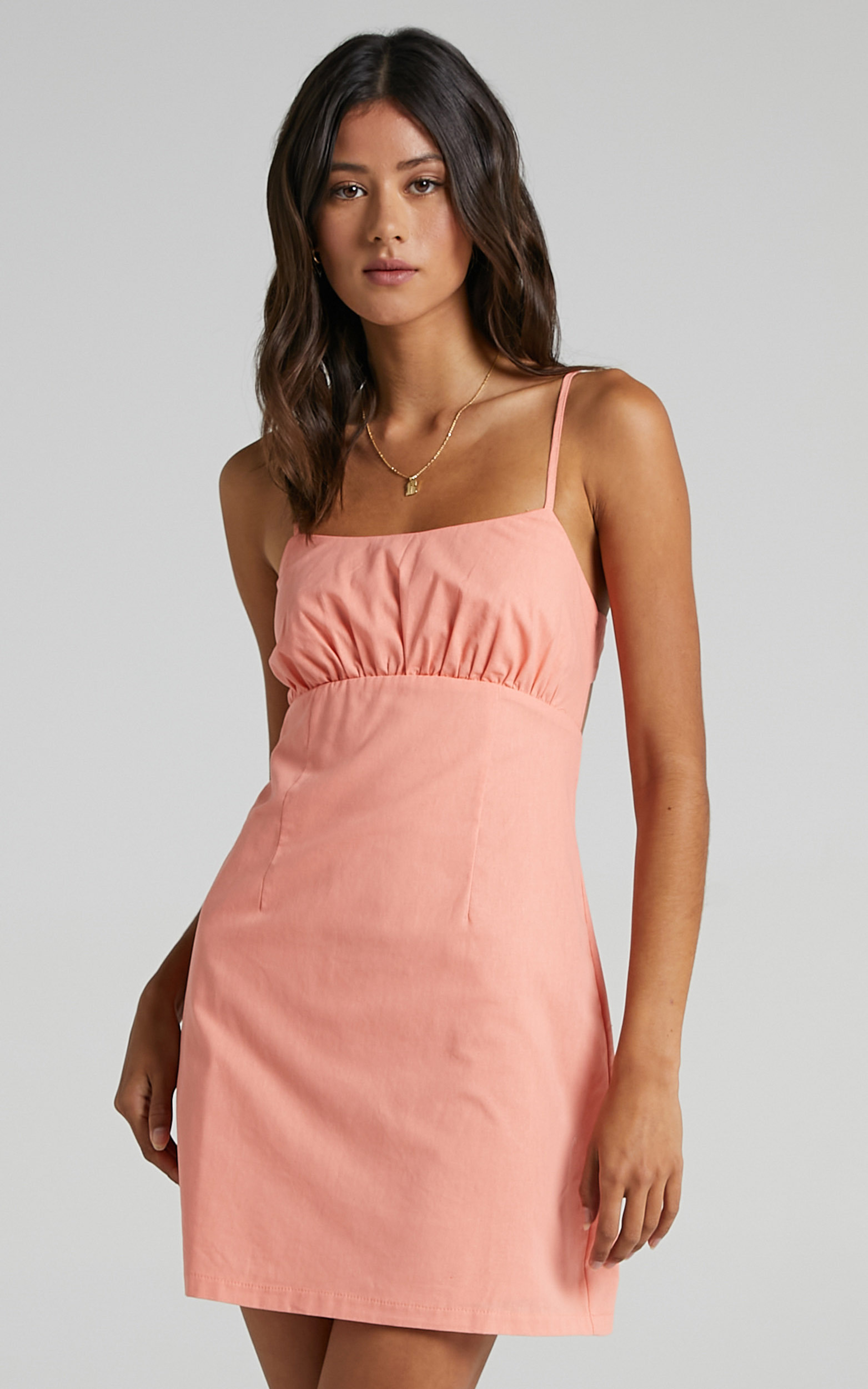 Gretna Dress in Peach - 06, ORG1, hi-res image number null