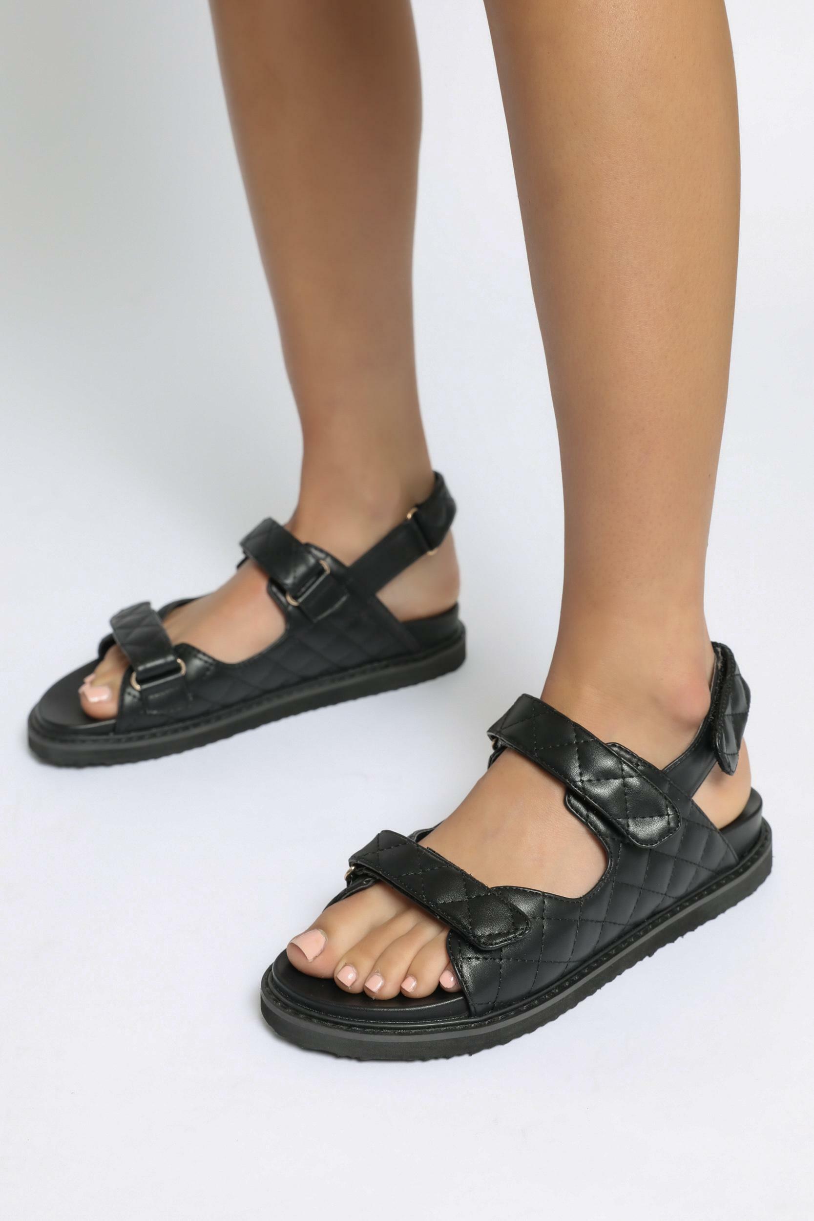 Billini - Zora Sandals in Black - 5, Black, hi-res image number null