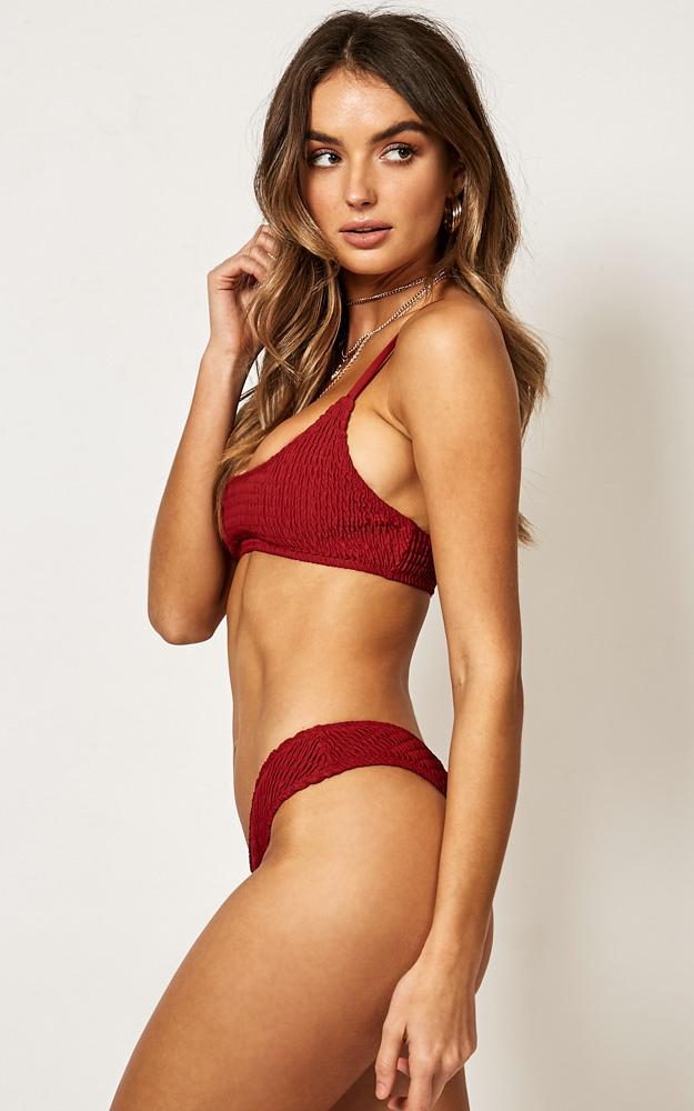 Anais Bikini Bottom in Chilli - 20 (XXXXL), Red, hi-res image number null