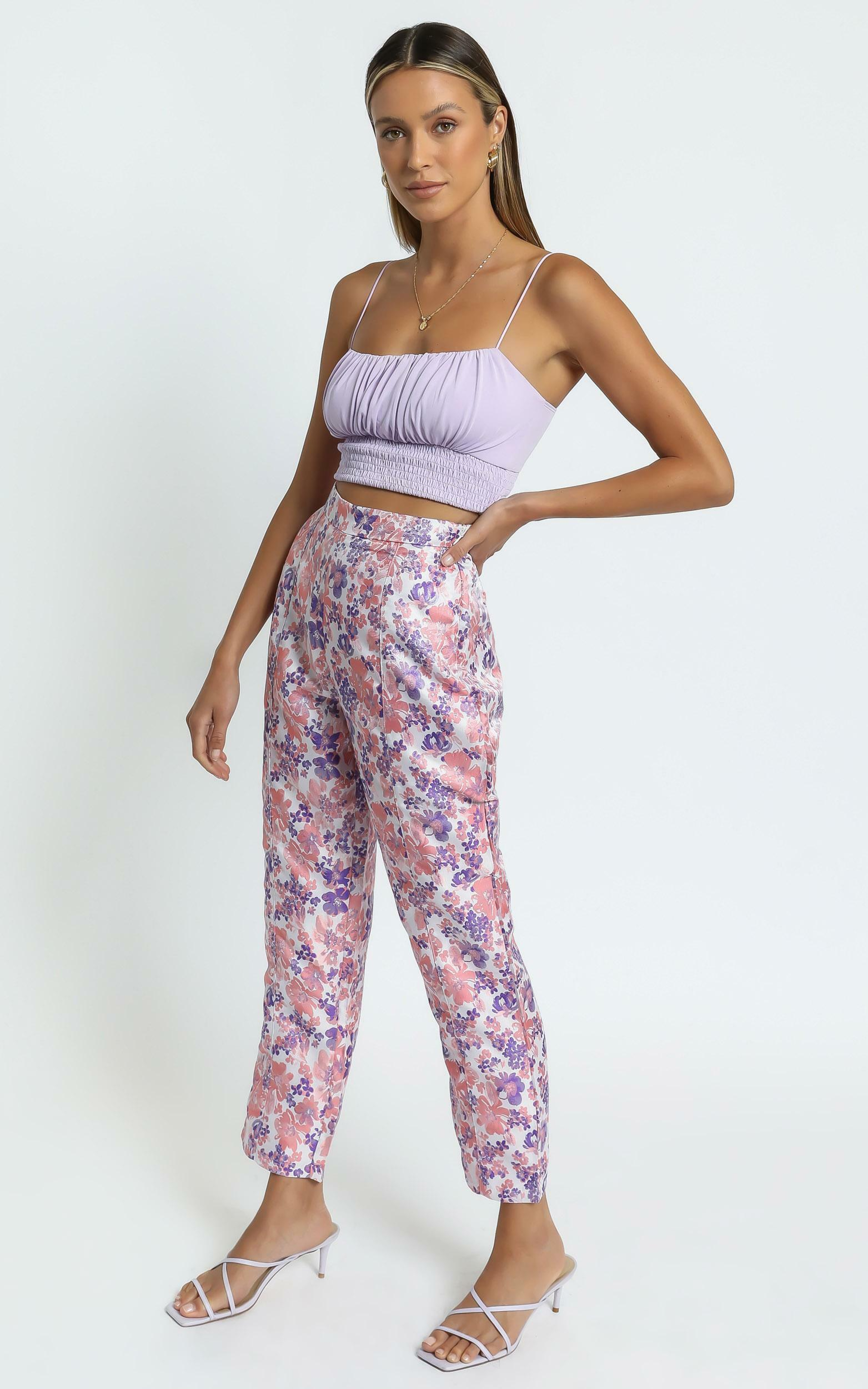 Rainey Pants in Multi Floral - 06, MLT1, hi-res image number null